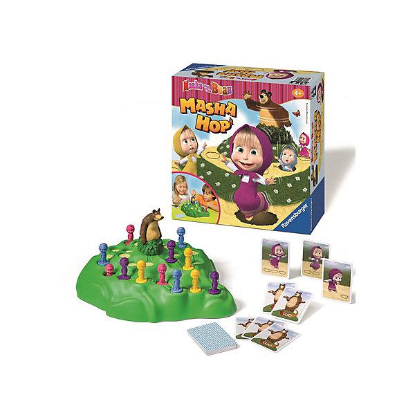 Настольная игра «Маша и Медведь. Поймай Мишку», RavensburgerМаша и Медведь<br>Настольная игра «Маша и Медведь. Поймай Мишку», Ravensburger – увлекательная игра для детей от 4 лет.<br>Очень забавная игра для небольшой компании друзей. Суть игры: добраться до Медведя раньше других игроков, обходя опасные препятствия на своем пути. Игра напоминает старую игру в пятнашки, только теперь ребенок играет за любимого персонажа. Все части игры сделаны из нетоксичного материала.<br><br>Дополнительная информация:<br><br>- возраст: от 4 лет<br>- количество игроков: 2-4<br>- время игры: 15-20 минут<br>- материал: картон, бумага, пластик<br>- размер упаковки: 40х40х5<br>- страна: Чехия<br><br>Настольную игру «Маша и Медведь. Поймай Мишку», Ravensburger можно купить в нашем интернет-магазине.<br><br>Ширина мм: 400<br>Глубина мм: 400<br>Высота мм: 50<br>Вес г: 816<br>Возраст от месяцев: 36<br>Возраст до месяцев: 96<br>Пол: Унисекс<br>Возраст: Детский<br>SKU: 4919200