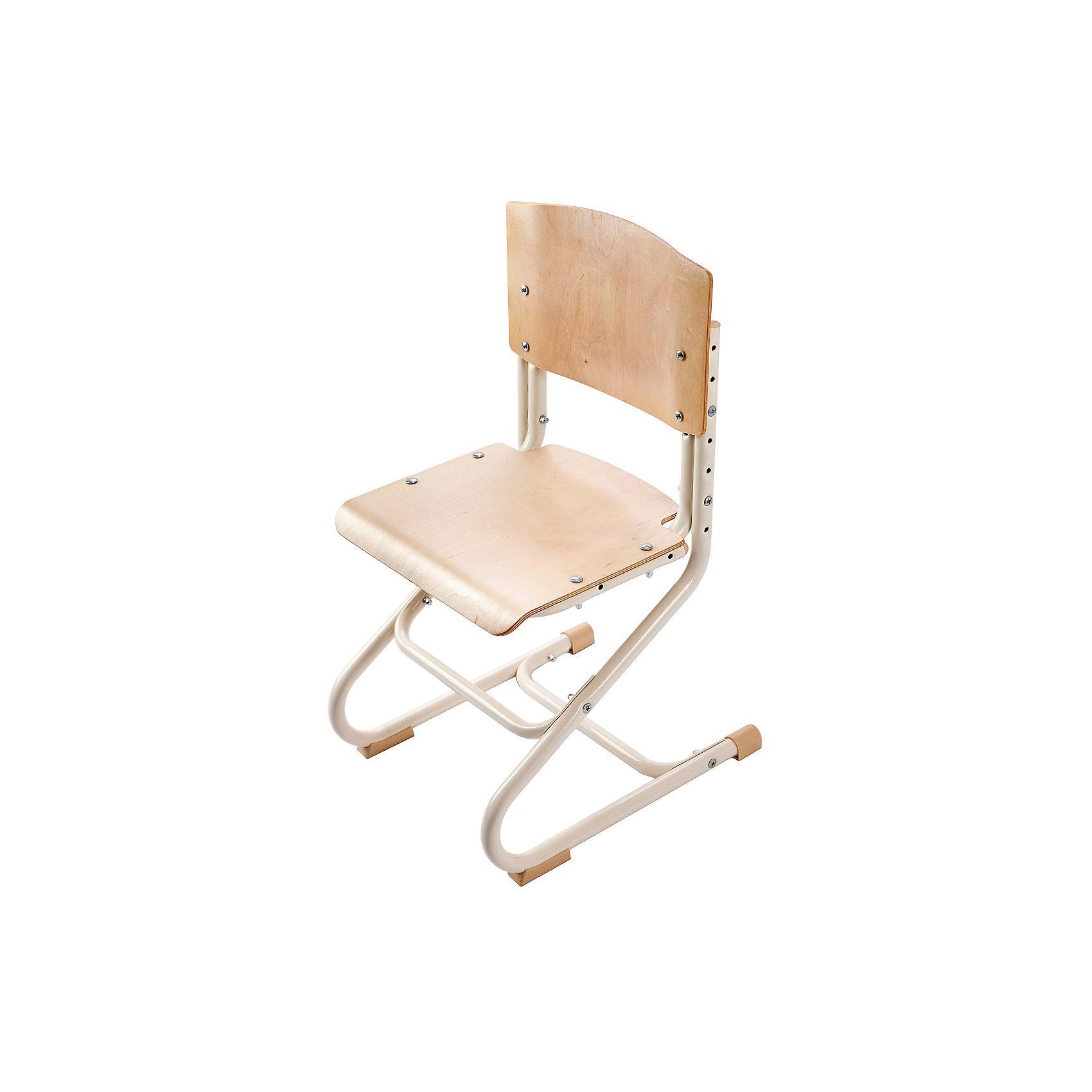 Стул универсальный СУТ.01-01, Дэми, бежевыйСтул универсальный СУТ.01-01, Дэми, бежевый – эргономичный стул для детей от 3 лет.<br>Высота ножек, положение сидения, наклон спинки регулируются, поэтому стул будет «расти» вместе с ребенком. Модель выполнена из прочного металла и фанеры, поэтому служить такой стул будет долгие годы. Регулируемая спинка также дополнительно помогает ребенку в поддержании красивой и здоровой осанки. Стул не теряет внешний вид спустя время и не требует особо ухода. <br><br>Дополнительная информация: <br><br>Высота сидения стула - 34,5-44,5 см<br>Глубина сидения стула - 31-34,5 см<br>Ширина сидения стула - 40 см <br>Вес: 7 кг<br>Материал: фанера, металл<br>Цвет: бежевый<br><br>Стул универсальный СУТ.01-01, Дэми, бежевый можно купить в нашем интернет магазине.<br><br>Ширина мм: 730<br>Глубина мм: 610<br>Высота мм: 80<br>Вес г: 8000<br>Возраст от месяцев: 48<br>Возраст до месяцев: 1188<br>Пол: Унисекс<br>Возраст: Детский<br>SKU: 4919210