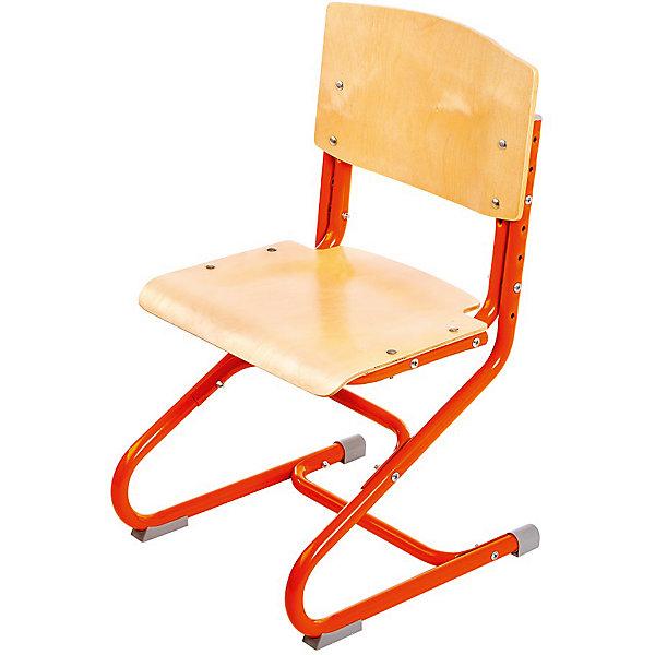 Стул универсальный СУТ.01-01, Дэми, оранжевыйСтулья к партам<br>Стул универсальный СУТ.01-01, Дэми, оранжевый – эргономичный стул для детей от 3 лет.<br>Высота ножек, положение сидения, наклон спинки регулируются, поэтому стул будет «расти» вместе с ребенком. Модель выполнена из прочного металла и фанеры, поэтому служить такой стул будет долгие годы. Регулируемая спинка также дополнительно помогает ребенку в поддержании красивой и здоровой осанки. Стул не теряет внешний вид спустя время и не требует особо ухода. <br><br>Дополнительная информация: <br><br>Высота сидения стула - 34,5-44,5 см<br>Глубина сидения стула - 31-34,5 см<br>Ширина сидения стула - 40 см <br>Вес: 7 кг<br>Материал: фанера, металл<br>Цвет: оранжевый<br><br>Стул универсальный СУТ.01-01, Дэми, оранжевый можно купить в нашем интернет магазине.<br><br>Ширина мм: 730<br>Глубина мм: 610<br>Высота мм: 80<br>Вес г: 8000<br>Возраст от месяцев: 48<br>Возраст до месяцев: 1188<br>Пол: Унисекс<br>Возраст: Детский<br>SKU: 4919211