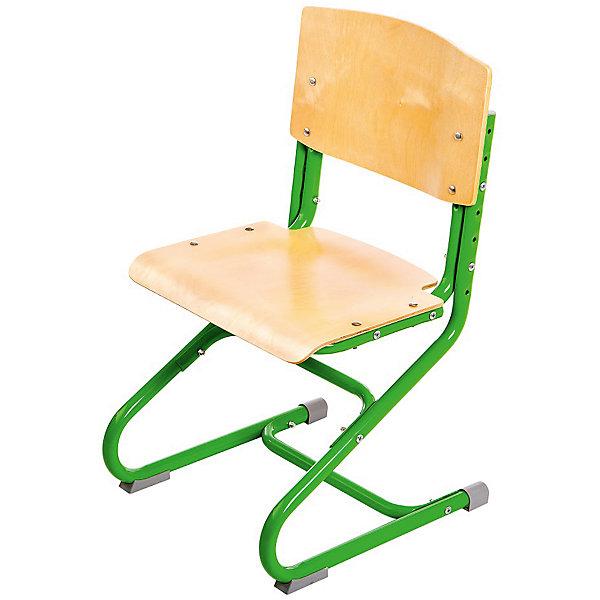 Стул универсальный СУТ.01-01, Дэми, зеленыйСтулья к партам<br>Стул универсальный СУТ.01-01, Дэми, зеленый – эргономичный стул для детей от 3 лет.<br>Высота ножек, положение сидения, наклон спинки регулируются, поэтому стул будет «расти» вместе с ребенком. Модель выполнена из прочного металла и фанеры, поэтому служить такой стул будет долгие годы. Регулируемая спинка также дополнительно помогает ребенку в поддержании красивой и здоровой осанки. Стул не теряет внешний вид спустя время и не требует особо ухода. <br><br>Дополнительная информация: <br><br>Высота сидения стула - 34,5-44,5 см<br>Глубина сидения стула - 31-34,5 см<br>Ширина сидения стула - 40 см <br>Вес: 7 кг<br>Материал: фанера, металл<br>Цвет: зеленый<br><br>Стул универсальный СУТ.01-01, Дэми, зеленый можно купить в нашем интернет магазине.<br><br>Ширина мм: 730<br>Глубина мм: 610<br>Высота мм: 80<br>Вес г: 8000<br>Возраст от месяцев: 48<br>Возраст до месяцев: 1188<br>Пол: Унисекс<br>Возраст: Детский<br>SKU: 4919212