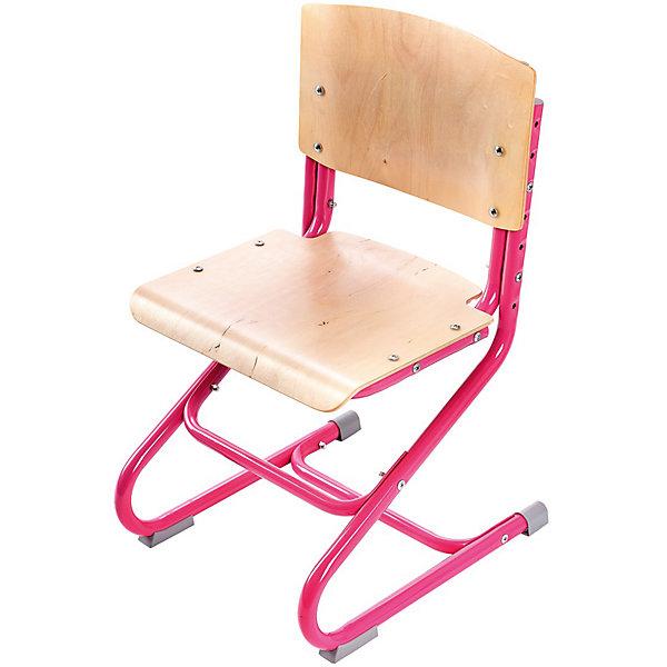 Стул универсальный СУТ.01-01, Дэми, розовыйСтулья к партам<br>Стул универсальный СУТ.01-01, Дэми, розовый – эргономичный стул для детей от 3 лет.<br>Высота ножек, положение сидения, наклон спинки регулируются, поэтому стул будет «расти» вместе с ребенком. Модель выполнена из прочного металла и фанеры, поэтому служить такой стул будет долгие годы. Регулируемая спинка также дополнительно помогает ребенку в поддержании красивой и здоровой осанки. Стул не теряет внешний вид спустя время и не требует особо ухода. <br><br>Дополнительная информация: <br><br>Высота сидения стула - 34,5-44,5 см<br>Глубина сидения стула - 31-34,5 см<br>Ширина сидения стула - 40 см <br>Вес: 7 кг<br>Материал: фанера, металл<br>Цвет: розовый<br><br>Стул универсальный СУТ.01-01, Дэми, розовый можно купить в нашем интернет магазине.<br><br>Ширина мм: 730<br>Глубина мм: 610<br>Высота мм: 80<br>Вес г: 8000<br>Возраст от месяцев: 48<br>Возраст до месяцев: 1188<br>Пол: Женский<br>Возраст: Детский<br>SKU: 4919213