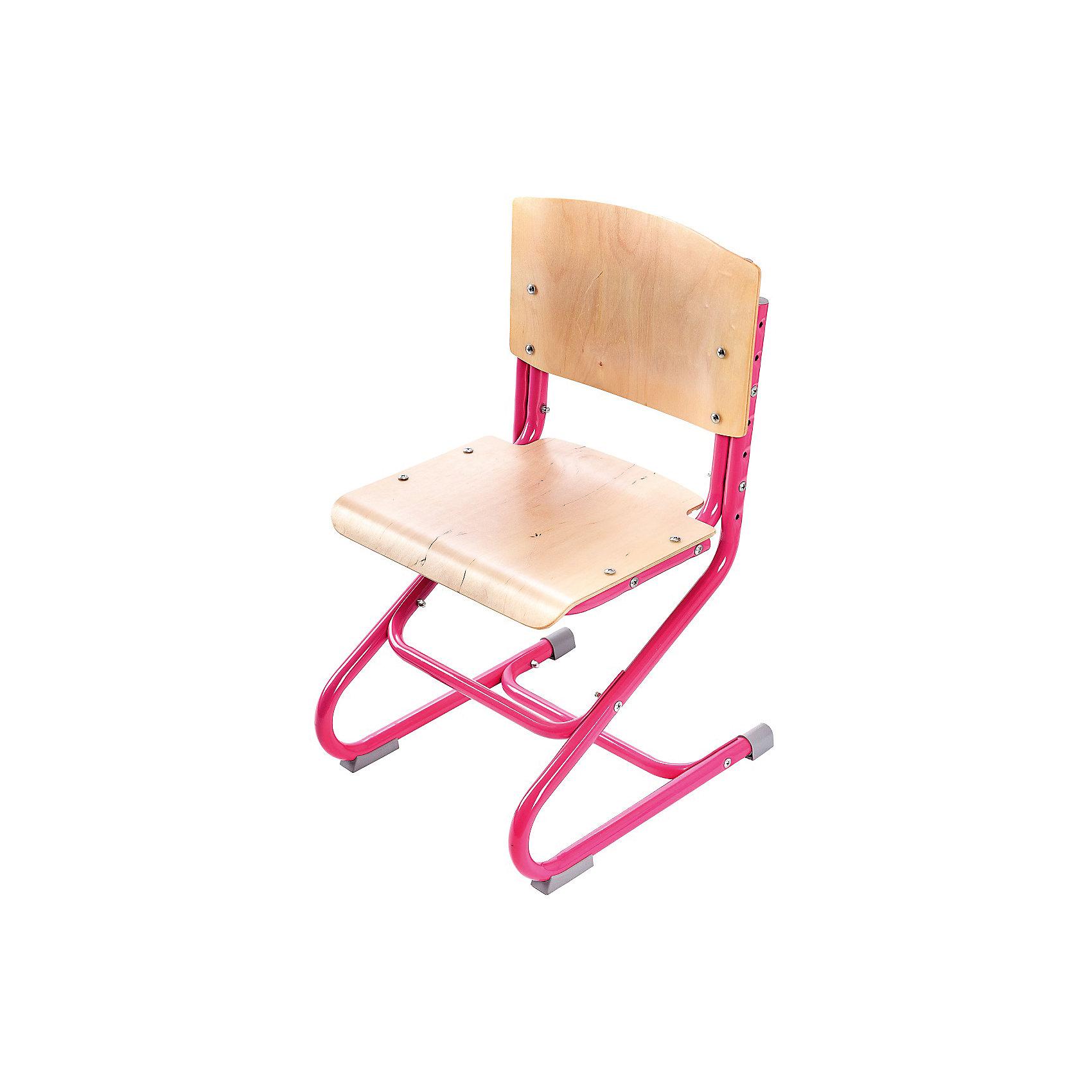 Стул универсальный СУТ.01-01, Дэми, розовыйМебель<br>Стул универсальный СУТ.01-01, Дэми, розовый – эргономичный стул для детей от 3 лет.<br>Высота ножек, положение сидения, наклон спинки регулируются, поэтому стул будет «расти» вместе с ребенком. Модель выполнена из прочного металла и фанеры, поэтому служить такой стул будет долгие годы. Регулируемая спинка также дополнительно помогает ребенку в поддержании красивой и здоровой осанки. Стул не теряет внешний вид спустя время и не требует особо ухода. <br><br>Дополнительная информация: <br><br>Высота сидения стула - 34,5-44,5 см<br>Глубина сидения стула - 31-34,5 см<br>Ширина сидения стула - 40 см <br>Вес: 7 кг<br>Материал: фанера, металл<br>Цвет: розовый<br><br>Стул универсальный СУТ.01-01, Дэми, розовый можно купить в нашем интернет магазине.<br><br>Ширина мм: 730<br>Глубина мм: 610<br>Высота мм: 80<br>Вес г: 8000<br>Возраст от месяцев: 48<br>Возраст до месяцев: 1188<br>Пол: Женский<br>Возраст: Детский<br>SKU: 4919213