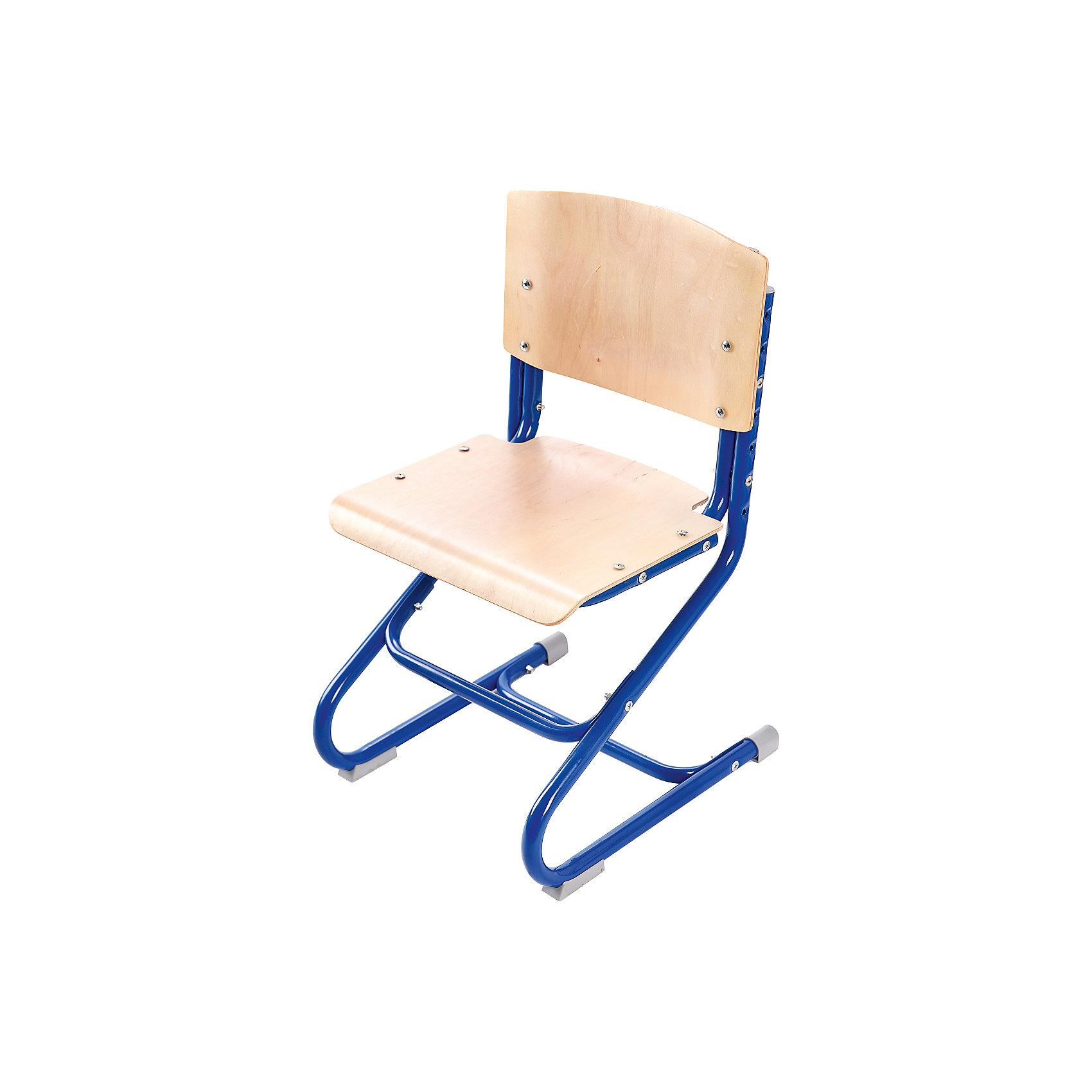 Стул универсальный СУТ.01-01, Дэми, синийМебель<br>Стул универсальный СУТ.01-01, Дэми, синий – эргономичный стул для детей от 3 лет.<br>Высота ножек, положение сидения, наклон спинки регулируются, поэтому стул будет «расти» вместе с ребенком. Модель выполнена из прочного металла и фанеры, поэтому служить такой стул будет долгие годы. Регулируемая спинка также дополнительно помогает ребенку в поддержании красивой и здоровой осанки. Стул не теряет внешний вид спустя время и не требует особо ухода. <br><br>Дополнительная информация: <br><br>Высота сидения стула - 34,5-44,5 см<br>Глубина сидения стула - 31-34,5 см<br>Ширина сидения стула - 40 см <br>Вес: 7 кг<br>Материал: фанера, металл<br>Цвет: синий<br><br>Стул универсальный СУТ.01-01, Дэми, синий можно купить в нашем интернет магазине.<br><br>Ширина мм: 730<br>Глубина мм: 610<br>Высота мм: 80<br>Вес г: 8000<br>Возраст от месяцев: 48<br>Возраст до месяцев: 1188<br>Пол: Мужской<br>Возраст: Детский<br>SKU: 4919214