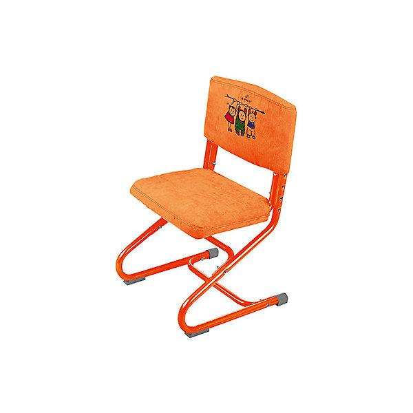Чехол замша СУТ.01.040-01, Дэми, оранжевыйДетские столы и стулья<br>Чехол замша СУТ.01.040-01, Дэми, оранжевый – красота и удобства слились воедино.<br>Данная модель чехла выполнена из замши, которая не только приятная на ощупь, но и достаточно прочная. Такую ткань можно стирать в машинке, он не теряет внешний вид от стирки и долгой службы. Чехол скрывает болты на спинке и сидении, тем самым делая стул еще удобнее и симпатичнее. Его легко снимать, однако он совершенно не скользит и не спадает со стула.<br><br>Дополнительная информация: <br><br>Размер: 500х390х50 мм<br>Вес: 360 гр<br>Материал: замша<br>Цвет: оранжевый<br><br>Чехол замша СУТ.01.040-01, Дэми, оранжевый можно купить в нашем интернет магазине.<br><br>Ширина мм: 500<br>Глубина мм: 390<br>Высота мм: 50<br>Вес г: 360<br>Возраст от месяцев: 48<br>Возраст до месяцев: 1188<br>Пол: Унисекс<br>Возраст: Детский<br>SKU: 4919234