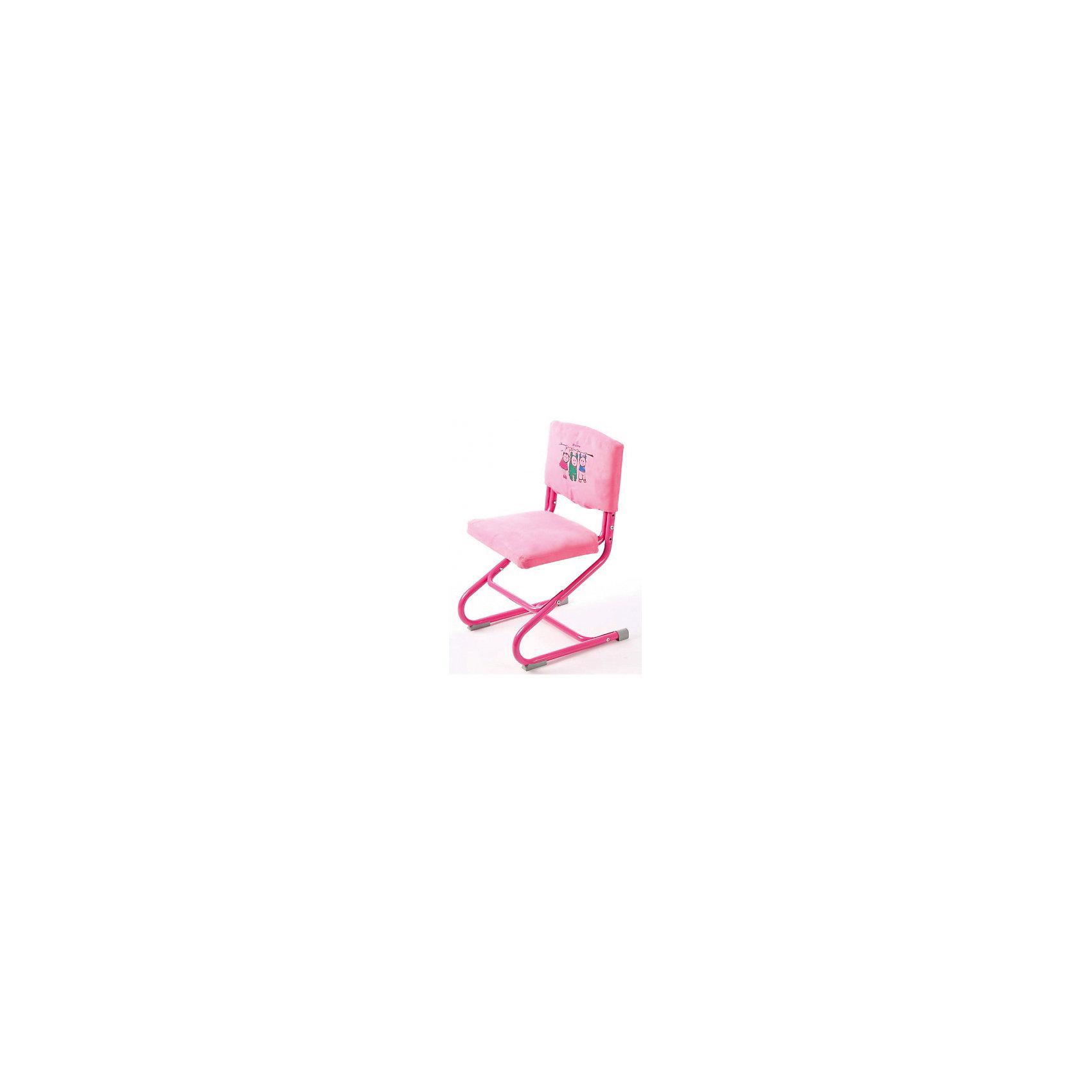 Чехол замша СУТ.01.040-01, Дэми, розовыйМебель<br>Чехол замша СУТ.01.040-01, Дэми, розовый – красота и удобства слились воедино.<br>Данная модель чехла выполнена из замши, которая не только приятная на ощупь, но и достаточно прочная. Такую ткань можно стирать в машинке, он не теряет внешний вид от стирки и долгой службы. Чехол скрывает болты на спинке и сидении, тем самым делая стул еще удобнее и симпатичнее. Его легко снимать, однако он совершенно не скользит и не спадает со стула.<br><br>Дополнительная информация:<br> <br>Размер: 500х390х50 мм<br>Вес: 360 гр<br>Материал: замша<br>Цвет: розовый<br><br>Чехол замша СУТ.01.040-01, Дэми, розовый можно купить в нашем интернет магазине.<br><br>Ширина мм: 500<br>Глубина мм: 390<br>Высота мм: 50<br>Вес г: 360<br>Возраст от месяцев: 48<br>Возраст до месяцев: 1188<br>Пол: Женский<br>Возраст: Детский<br>SKU: 4919235