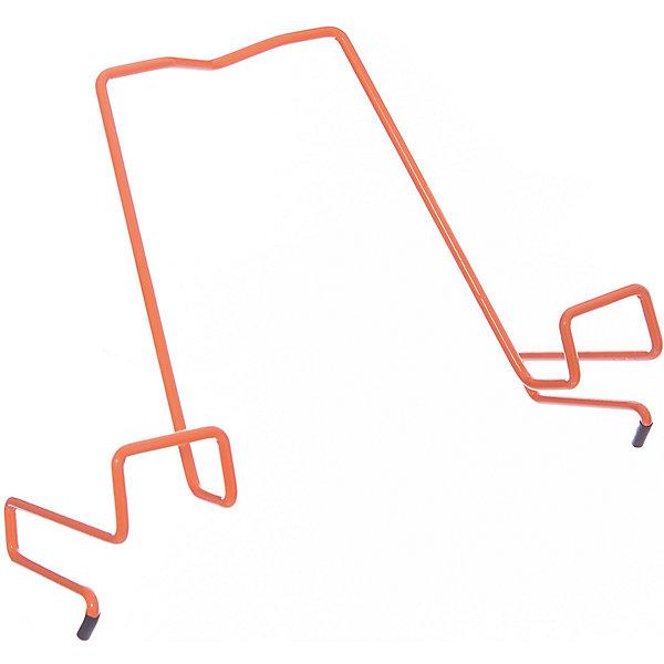 Подставка для книг металлическая ПДК.02, Дэми, оранжевыйАксессуары для парт<br>Подставка для книг металлическая ПДК.02, Дэми, оранжевый – необходимая вещь для каждого ребенка.<br>Данная модель представляет собой привычную металлическую подставку, знакомую всем с детства. Однако ее отличие в том, что подставка надежно крепится к столу Дэми. Это позволяет ребенку не волноваться о том, что она может упасть. У подставки удобный угол наклона, но при желании ее можно отрегулировать. <br><br>Дополнительная информация: <br><br>Размер: 330x202x55 мм<br>Вес: 100 гр<br>Материал: металл<br>Цвет: оранжевый<br><br>Подставку для книг металлическую ПДК.02, Дэми, оранжевую можно купить в нашем интернет магазине.<br><br>Ширина мм: 500<br>Глубина мм: 390<br>Высота мм: 30<br>Вес г: 100<br>Возраст от месяцев: 48<br>Возраст до месяцев: 1188<br>Пол: Унисекс<br>Возраст: Детский<br>SKU: 4919239
