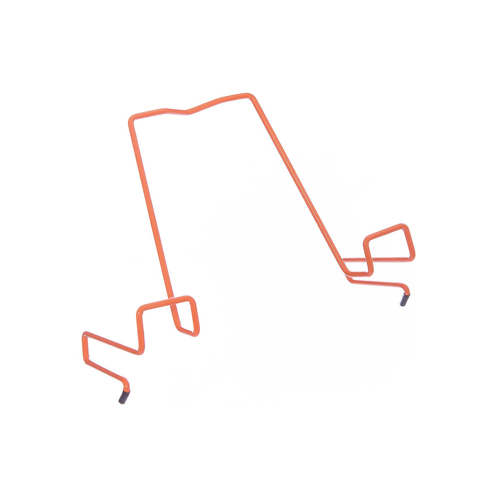 Подставка для книг металлическая ПДК.02, Дэми, оранжевыйМебель<br>Подставка для книг металлическая ПДК.02, Дэми, оранжевый – необходимая вещь для каждого ребенка.<br>Данная модель представляет собой привычную металлическую подставку, знакомую всем с детства. Однако ее отличие в том, что подставка надежно крепится к столу Дэми. Это позволяет ребенку не волноваться о том, что она может упасть. У подставки удобный угол наклона, но при желании ее можно отрегулировать. <br><br>Дополнительная информация: <br><br>Размер: 330x202x55 мм<br>Вес: 100 гр<br>Материал: металл<br>Цвет: оранжевый<br><br>Подставку для книг металлическую ПДК.02, Дэми, оранжевую можно купить в нашем интернет магазине.<br><br>Ширина мм: 500<br>Глубина мм: 390<br>Высота мм: 30<br>Вес г: 100<br>Возраст от месяцев: 48<br>Возраст до месяцев: 1188<br>Пол: Унисекс<br>Возраст: Детский<br>SKU: 4919239