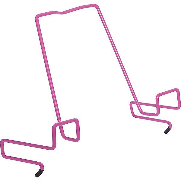 Подставка для книг металлическая ПДК.02, Дэми, розовыйАксессуары для парт<br>Подставка для книг металлическая ПДК.02, Дэми, розовый – необходимая вещь для каждого ребенка.<br>Данная модель представляет собой привычную металлическую подставку, знакомую всем с детства. Однако ее отличие в том, что подставка надежно крепится к столу Дэми. Это позволяет ребенку не волноваться о том, что она может упасть. У подставки удобный угол наклона, но при желании ее можно отрегулировать. <br><br>Дополнительная информация: <br><br>Размер: 330x202x55 мм<br>Вес: 100 гр<br>Материал: металл<br>Цвет: розовый<br><br>Подставку для книг металлическую ПДК.02, Дэми, розовую можно купить в нашем интернет магазине.<br><br>Ширина мм: 500<br>Глубина мм: 390<br>Высота мм: 30<br>Вес г: 100<br>Возраст от месяцев: 48<br>Возраст до месяцев: 1188<br>Пол: Женский<br>Возраст: Детский<br>SKU: 4919241