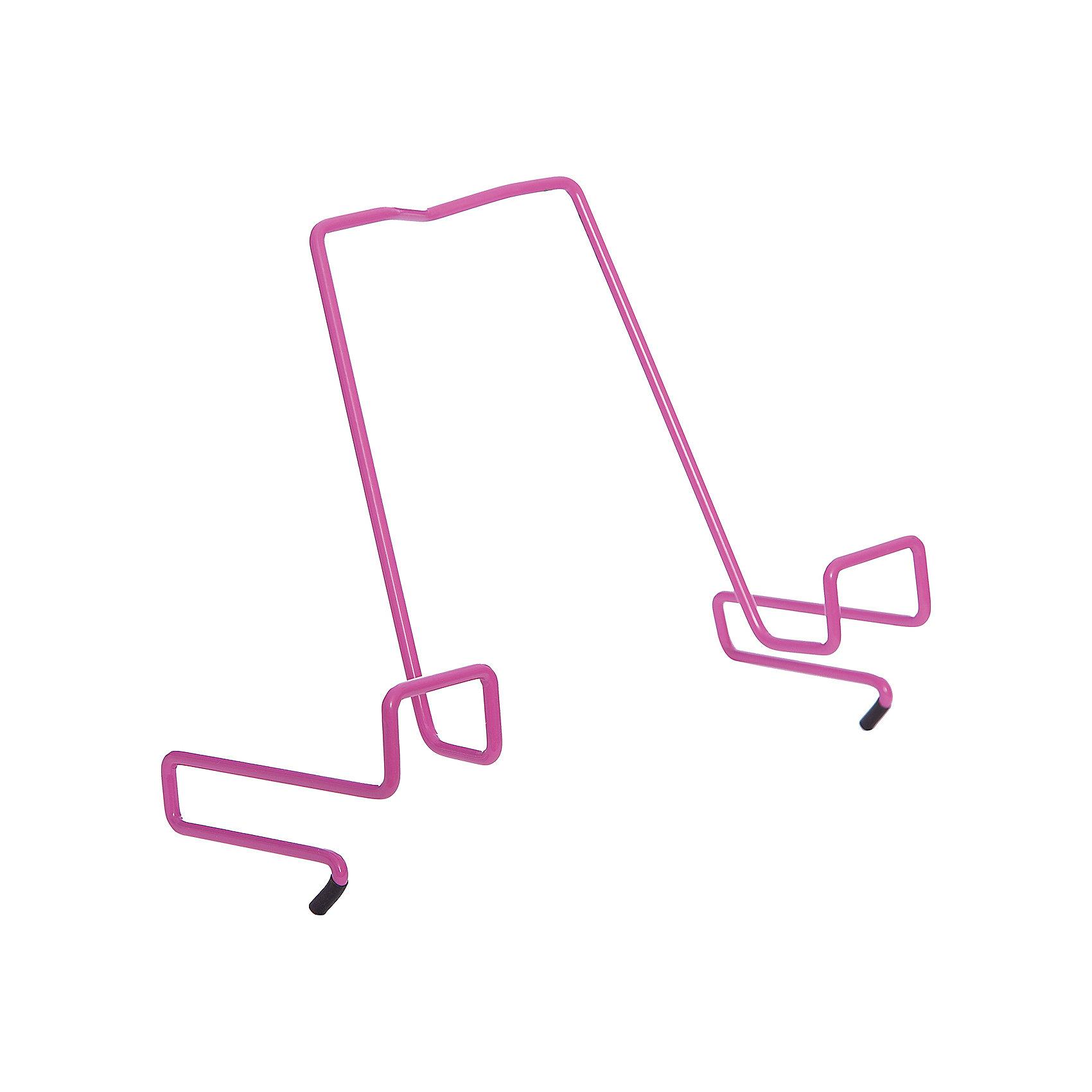 Подставка для книг металлическая ПДК.02, Дэми, розовый