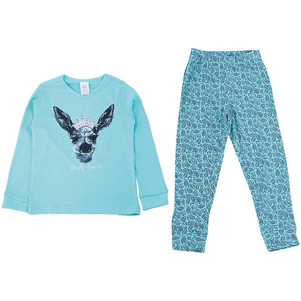 Пижама для девочки SELAПижамы и сорочки<br>Удобная пижама - неотъемлемая составляющая комфортного сна ребенка. Эта модель отлично сидит на девочке, она сшита из приятного на ощупь материала, мягкая и дышащая. Натуральный хлопок в составе ткани не вызывает аллергии и обеспечивает ребенку комфорт. В наборе - футболка с длинным рукавом и штаны, вещи украшены симпатичным принтом.<br>Одежда от бренда Sela (Села) - это качество по приемлемым ценам. Многие российские родители уже оценили преимущества продукции этой компании и всё чаще приобретают одежду и аксессуары Sela.<br><br>Дополнительная информация:<br><br>цвет: разноцветный;<br>материал: 100% хлопок;<br>принт;<br>трикотаж.<br><br>Пижаму для девочки от бренда Sela можно купить в нашем интернет-магазине.<br><br>Ширина мм: 281<br>Глубина мм: 70<br>Высота мм: 188<br>Вес г: 295<br>Цвет: голубой<br>Возраст от месяцев: 24<br>Возраст до месяцев: 36<br>Пол: Женский<br>Возраст: Детский<br>Размер: 92/98,140/146,104/110,116/122,128/134<br>SKU: 4919392