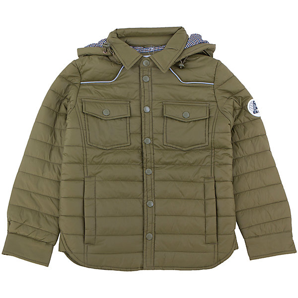 Куртка для мальчика SELAВерхняя одежда<br>Эта модная утепленная куртка - незаменимая вещь в прохладное время года. Эта модель отлично сидит на ребенке, она сшита из плотного материала, позволяет гулять и заниматься спортом на свежем воздухе. Подкладка и утеплитель обеспечивают ребенку комфорт. Модель дополнена капюшоном и карманами.<br>Одежда от бренда Sela (Села) - это качество по приемлемым ценам. Многие российские родители уже оценили преимущества продукции этой компании и всё чаще приобретают одежду и аксессуары Sela.<br><br>Дополнительная информация:<br><br>материал: 100% ПЭ;<br>капюшон;<br>карманы;<br>застежки - кнопки.<br><br>Куртку для мальчика от бренда Sela можно купить в нашем интернет-магазине.<br>Ширина мм: 356; Глубина мм: 10; Высота мм: 245; Вес г: 519; Цвет: зеленый; Возраст от месяцев: 132; Возраст до месяцев: 144; Пол: Мужской; Возраст: Детский; Размер: 152,116,128,140; SKU: 4919552;