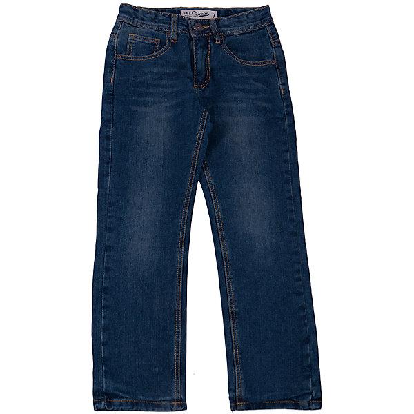 Джинсы для мальчика SELAДжинсы<br>Удобные джинсы - незаменимая вещь в детском гардеробе. Эта модель отлично сидит на ребенке, она сшита из плотного материала, натуральный хлопок не вызывает аллергии и обеспечивает ребенку комфорт. Модель станет отличной базовой вещью, которая будет уместна в различных сочетаниях.<br>Одежда от бренда Sela (Села) - это качество по приемлемым ценам. Многие российские родители уже оценили преимущества продукции этой компании и всё чаще приобретают одежду и аксессуары Sela.<br><br>Дополнительная информация:<br><br>цвет: синий;<br>материал: 100% хлопок; подкладка 65% ПЭ, 35% хлопок;<br>плотный материал.<br><br>Джинсы для мальчика от бренда Sela можно купить в нашем интернет-магазине.<br><br>Ширина мм: 215<br>Глубина мм: 88<br>Высота мм: 191<br>Вес г: 336<br>Цвет: синий<br>Возраст от месяцев: 72<br>Возраст до месяцев: 84<br>Пол: Мужской<br>Возраст: Детский<br>Размер: 122,152,146,140,134,128<br>SKU: 4919569