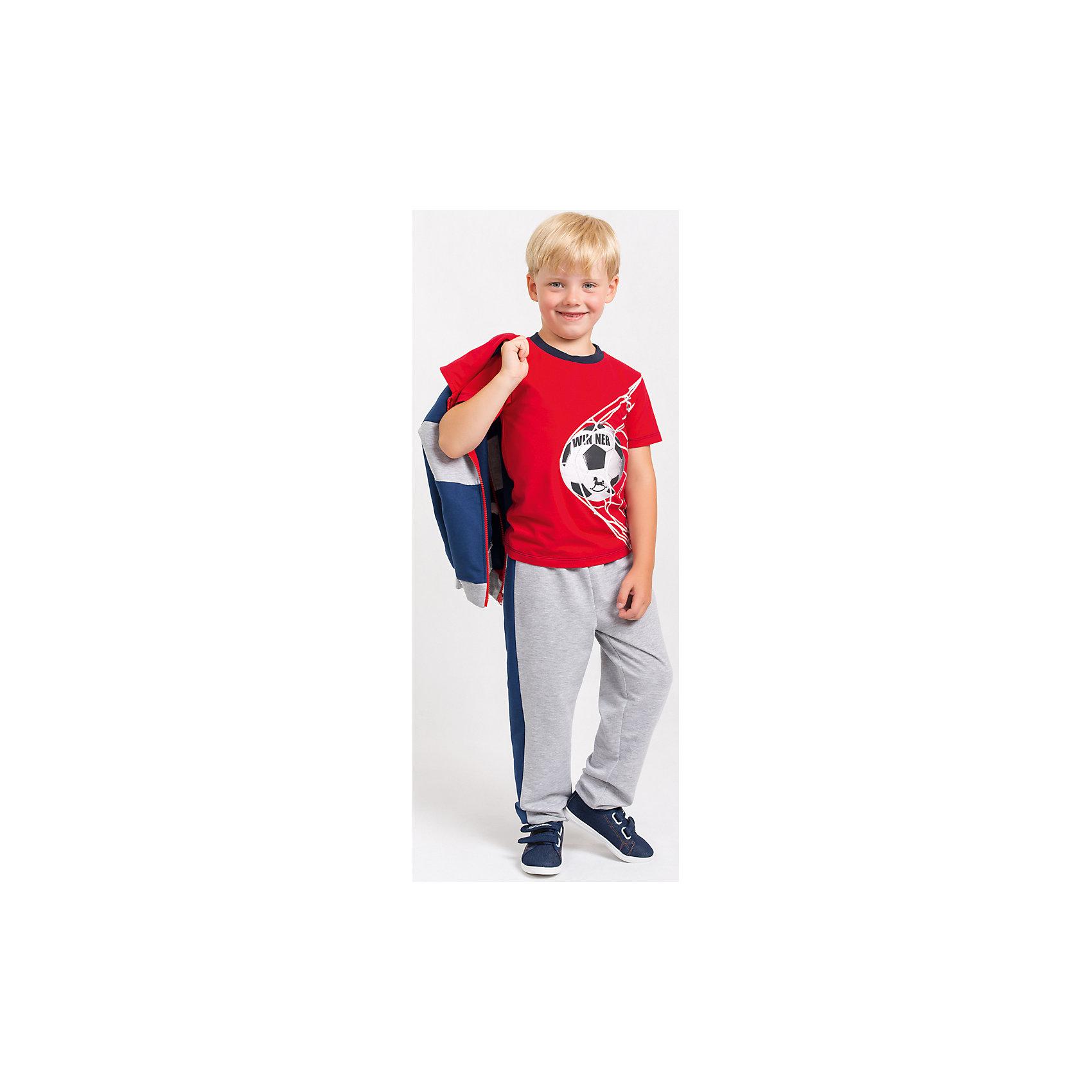 Футболка  для мальчикаФутболка для мальчика от белорусской марки Goldy.<br>Состав:<br>супрем компакт пенье (96% хлопок , 4% лайкра)<br><br>Ширина мм: 199<br>Глубина мм: 10<br>Высота мм: 161<br>Вес г: 151<br>Цвет: красный<br>Возраст от месяцев: 18<br>Возраст до месяцев: 24<br>Пол: Мужской<br>Возраст: Детский<br>Размер: 92,104,98,122,116,110<br>SKU: 4921146