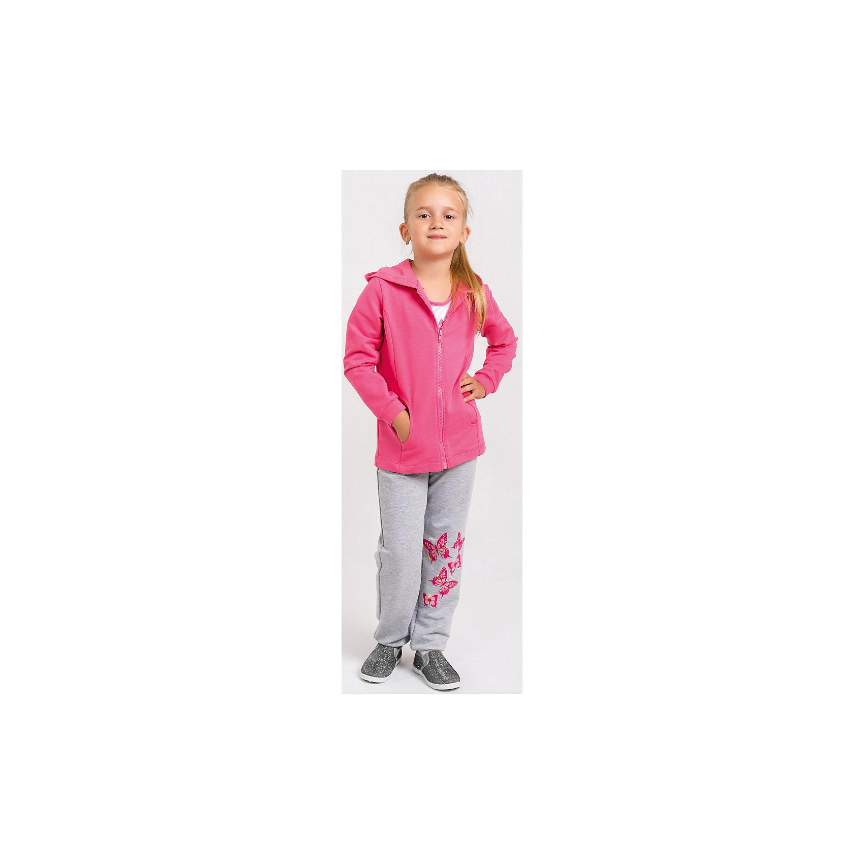 Спортивный костюм для девочки GoldyСпортивная форма<br>Спортивный костюм для девочки от белорусской марки Goldy. Костюм состоит из толстовки с капюшоном и брюк с манжетами.<br>Состав:<br>футер компакт пенье  (70% хлопок, 26% ПЭ, 4% лайкра)<br><br>Ширина мм: 247<br>Глубина мм: 16<br>Высота мм: 140<br>Вес г: 225<br>Цвет: розовый<br>Возраст от месяцев: 24<br>Возраст до месяцев: 36<br>Пол: Женский<br>Возраст: Детский<br>Размер: 98,104,110,116,122,128<br>SKU: 4921257