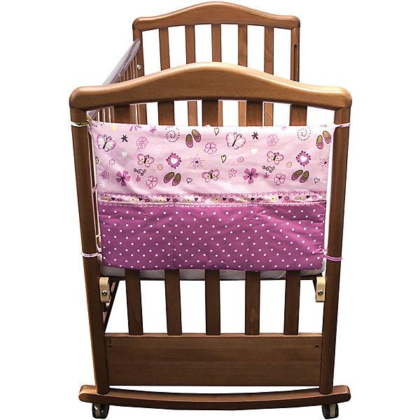 Карман Золушка, Сонный гномик, розовыйПостельное белье в кроватку новорождённого<br>Карман Золушка, Сонный гномик, розовый изготовлен из 100% хлопка, в качестве наполнителя использован холлофайбер, который придает изделию форму и объем, благодаря чему обеспечивается защита от ударов ребенка о бортики кроватки. Карман можно крепить за счет завязок к бортику кроватки, пеленальному столику, комоду или другим поверхностям. У изделия предусмотрено три отделения, в которых можно хранить необходимые предметы и вещи. <br><br>Дополнительная информация:<br><br>- Предназначение: для хранения вещей и предметов ухода за ребенком<br>- Материал: 100% хлопок, в качестве наполнителя – холлофайбер<br>- Пол: для девочки<br>- Цвет: розовый<br>- Размеры (Д*Ш*Д): 59*42*5 см<br>- Вес: 250 г<br>- Особенности ухода: разрешается стирка при температуре не более 40 градусов, запрещается использовать химические отбеливатели<br><br>Подробнее:<br><br>• Для детей в возрасте от 0 месяцев и до 4 лет<br>• Страна производитель: Россия<br>• Торговый бренд: Сонный гномик<br><br>Карман Золушка, Сонный гномик, розовый можно купить в нашем интернет-магазине.<br><br>Ширина мм: 590<br>Глубина мм: 420<br>Высота мм: 50<br>Вес г: 250<br>Возраст от месяцев: 0<br>Возраст до месяцев: 48<br>Пол: Женский<br>Возраст: Детский<br>SKU: 4922734