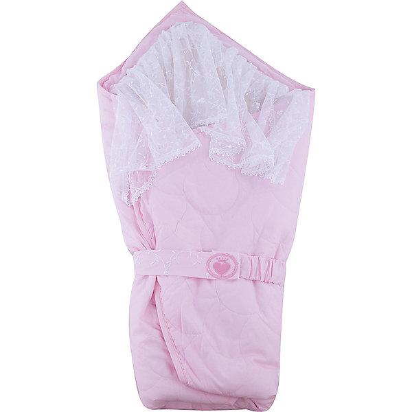 Одеяло-конверт Зимушка, Сонный гномик, розовыйДетские конверты<br>Характеристики:<br><br>• Вид детского текстиля: одеяло-конверт<br>• Сезон: зима<br>• Температурный режим: от 0? С до -20? С<br>• Степень утепления: высокая<br>• Утеплитель: синтепон, 200 г/кв.м<br>• Пол: для девочки<br>• Тематика рисунка: без рисунка<br>• Материал: сатин, хлопок 100%; натуральная овечья шерсть<br>• Цвет: розовый, белый<br>• Съемная вуаль<br>• В комплекте предусмотрен пояс<br>• Упаковка: полиэтилен <br>• Размер одеяла: 100*100 см<br>• Вес в упаковке: 940 г<br>• Особенности ухода: машинная стирка при температуре 30 градусов без использования красящих и отбеливающих веществ<br><br>Одеяло-конверт Зимушка, Сонный гномик, розовый от отечественного торгового бренда выполнено с учетом международных требований к качеству и безопасности товаров для детей. Конверт предназначен для выписки из роддома в зимний период. Верхняя часть конверта выполнена из стеганого сатина, в качестве наполнителя использован синтепон, что обеспечивает легкий вес изделия, воздухопроницаемость и гипоаллергенность. Высокую степень утепления обеспечивает натуральная овечья шерсть. В комплекте имеется съемная вуаль белого цвета на липучке голубой пояс. Изделие отличается функциональностью, после выписки его можно использовать в качестве одеяла для сна или для прогулок в прохладное время года.<br>Одеяло-конверт Зимушка, Сонный гномик, розовый создаст праздничный образ вашего малыша во время выписки из роддома. <br><br>Одеяло-конверт Зимушка, Сонный гномик, розовый можно купить в нашем интернет-магазине.<br><br>Ширина мм: 600<br>Глубина мм: 100<br>Высота мм: 450<br>Вес г: 940<br>Возраст от месяцев: 0<br>Возраст до месяцев: 6<br>Пол: Женский<br>Возраст: Детский<br>SKU: 4922769