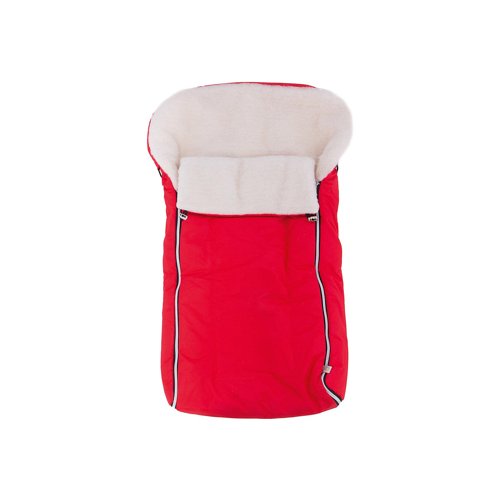 Сонный гномик Конверт в коляску Норд, Сонный гномик, красный сонный гномик конверт зимний норд серый