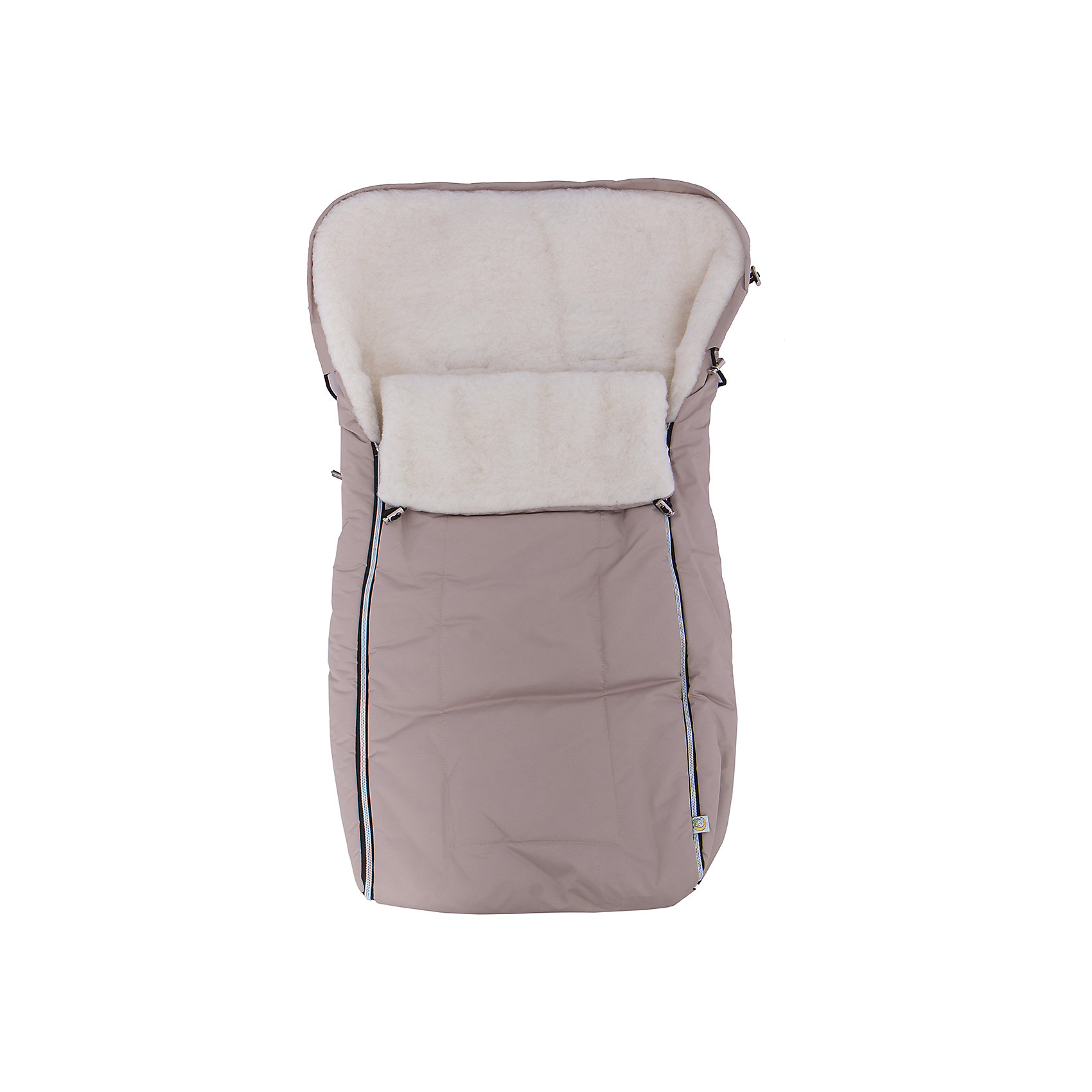 Сонный гномик Конверт в коляску Норд, Сонный гномик, бежевый сонный гномик конверт зимний норд серый