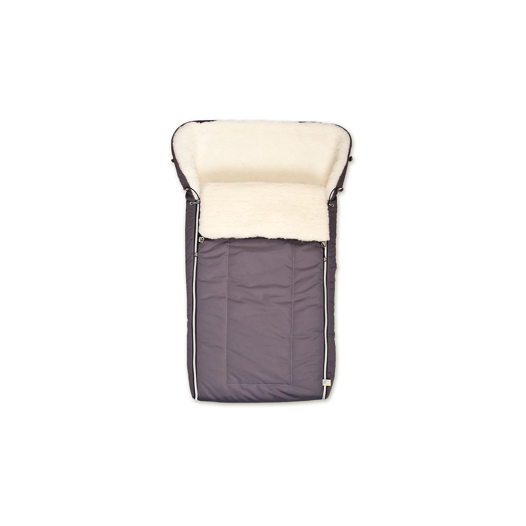 Сонный гномик Конверт в коляску Норд, Сонный гномик, серый