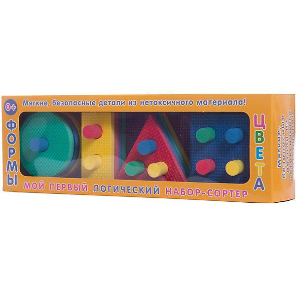 Набор Мой первый логический набор-сортер: Формы и цветаРазвивающие игрушки<br><br>Ширина мм: 100; Глубина мм: 305; Высота мм: 58; Вес г: 200; Возраст от месяцев: 0; Возраст до месяцев: 24; Пол: Унисекс; Возраст: Детский; SKU: 4923058;