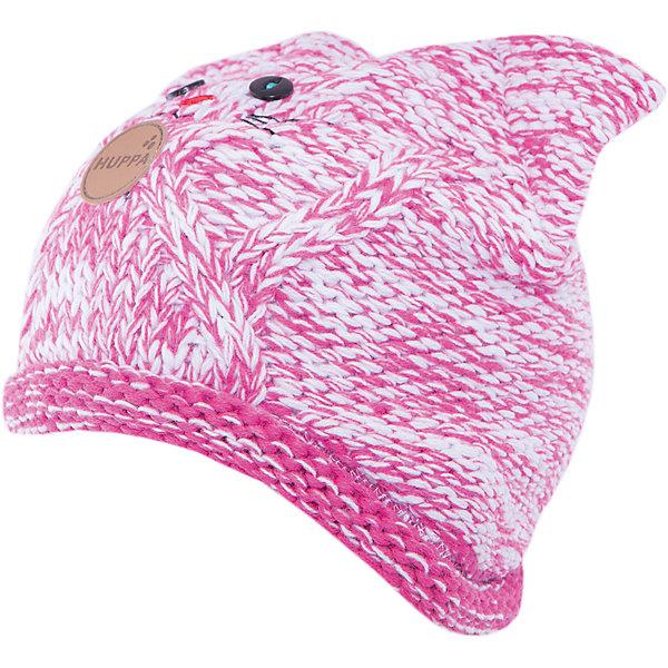 Шапка  HuppaГоловные уборы<br>Вязаная шапка MATTIA от Huppa(хуппа) изготовлена из шерсти и акрила. Подкладка из натурального хлопка, приятного телу. Выступы для ушек и удобные завязки надежно защитят ребенка от ветра. В этой шапке девочка точно не замерзнет, а милый дизайн с мордочкой котика всегда будет радовать глаз!<br><br>Дополнительная информация:<br>Цвет: фуксия/белый<br>Материал: 50% мериносовая шерсть, 50% акрил<br>Подкладка: 100% хлопок<br><br>Шапку MATTIA Huppa(хуппа) можно купить в нашем интернет-магазине.<br><br>Ширина мм: 89<br>Глубина мм: 117<br>Высота мм: 44<br>Вес г: 155<br>Цвет: розовый<br>Возраст от месяцев: 12<br>Возраст до месяцев: 24<br>Пол: Женский<br>Возраст: Детский<br>Размер: 47-49,55-57,51-53<br>SKU: 4923477