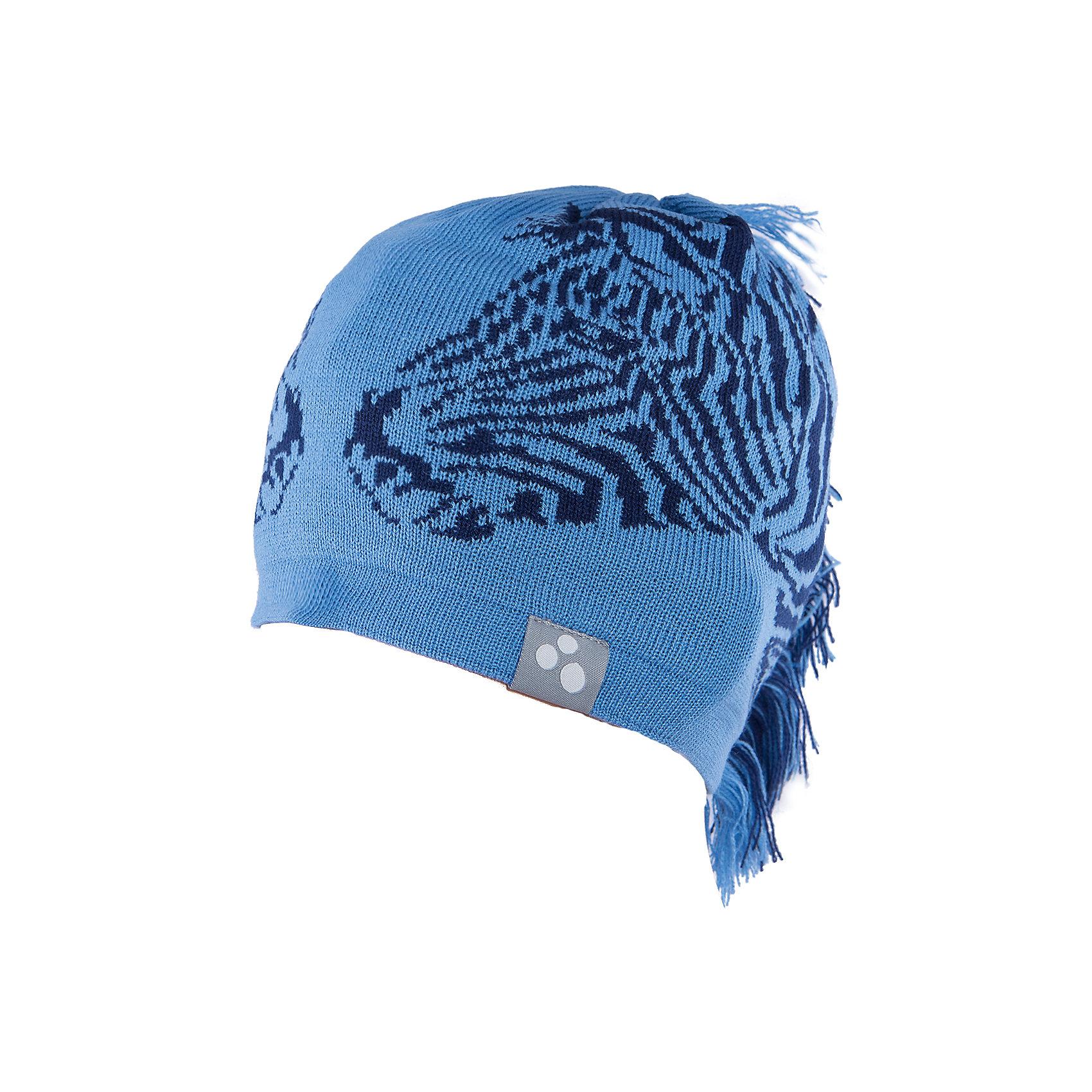Шапка Zebra HuppaНеобычная зимняя шапка Zebra от Huppa(хуппа) непременно удивит и понравится ребенку и окружающим. Шапка изготовлена из шерсти и акрила, с подкладкой из хлопка, имеет 2 завязки. Оригинальный дизайн с зеброй и хвостиком идеально подойдут для ребенка.<br><br>Дополнительная информация:<br>Цвет: синий/черный<br>Материал: 50% мериносовая шерсть, 50% акрил<br><br><br>Шапку Huppa(хуппа) вы можете купить в нашем интернет-магазине.<br><br>Ширина мм: 89<br>Глубина мм: 117<br>Высота мм: 44<br>Вес г: 155<br>Цвет: синий<br>Возраст от месяцев: 12<br>Возраст до месяцев: 24<br>Пол: Мужской<br>Возраст: Детский<br>Размер: 47-49,55-57,51-53<br>SKU: 4923493