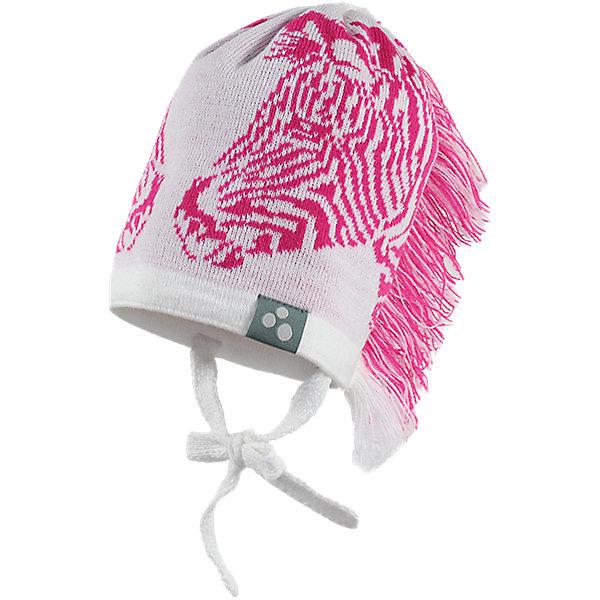 Шапка Huppa ZebraДемисезонные<br>Характеристики товара:<br><br>• модель: Zebra;<br>• цвет: белый/розовый;<br>• состав: 50% шерсть мериноса, 50% акрил;<br>• подкладка: 100% хлопок;<br>• утеплитель: без дополнительного утепления;<br>• температурный режим: от 0°С до -25°С;<br>• сезон: зима;<br>• особенности: вязаная, с принтом;<br>• шапка на завязках;<br>• декорирована изображением зебры и «хвостом»;<br>• светоотражающий элемент;<br>• страна бренда: Эстония;<br>• страна изготовитель: Эстония.<br><br>Необычная зимняя шапка Zebra от Huppa (хуппа) непременно удивит и понравится ребенку и окружающим. Шапка изготовлена из шерсти и акрила, с подкладкой из хлопка, имеет 2 завязки. Оригинальный дизайн с зеброй и хвостиком смотрится очень необычно.<br><br>Шапку Zebra от бренда Huppa (Хуппа) можно купить в нашем интернет-магазине.<br>Ширина мм: 89; Глубина мм: 117; Высота мм: 44; Вес г: 155; Цвет: белый; Возраст от месяцев: 12; Возраст до месяцев: 24; Пол: Женский; Возраст: Детский; Размер: 47-49,55-57,51-53; SKU: 4923501;