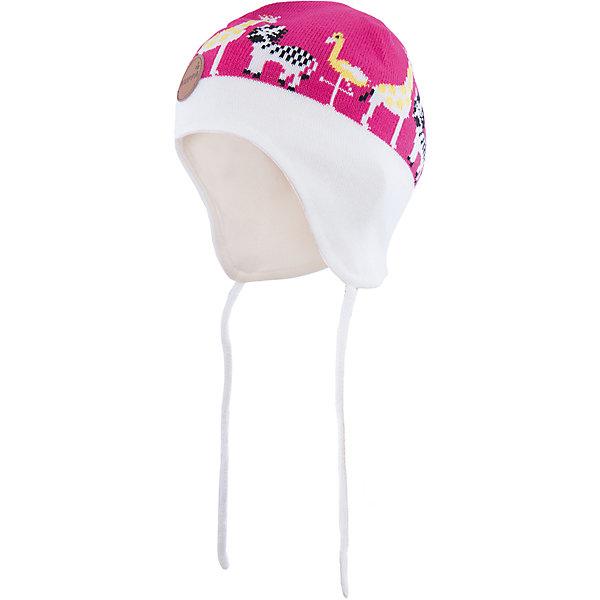 Шапка  HuppaГоловные уборы<br>Стильная шапка Karro со зверюшками от Huppa(хуппа) изготовлена из акрила и прекрасно сохраняет тепло. Кроме того, она отлично закрывает уши и не даст ребенку замерзнуть, даже в мороз!<br><br>Дополнительная информация:<br>Цвет: белый/розовый<br>Состав: 100% акрил<br>Подкладка: трикотаж - 100% хлопок<br><br>Шапку от Huppa(хуппа) вы можете приобрести в нашем интернет-магазине.<br><br>Ширина мм: 89<br>Глубина мм: 117<br>Высота мм: 44<br>Вес г: 155<br>Цвет: розовый<br>Возраст от месяцев: 9<br>Возраст до месяцев: 12<br>Пол: Женский<br>Возраст: Детский<br>Размер: 43-45,51-53,47-49<br>SKU: 4923505