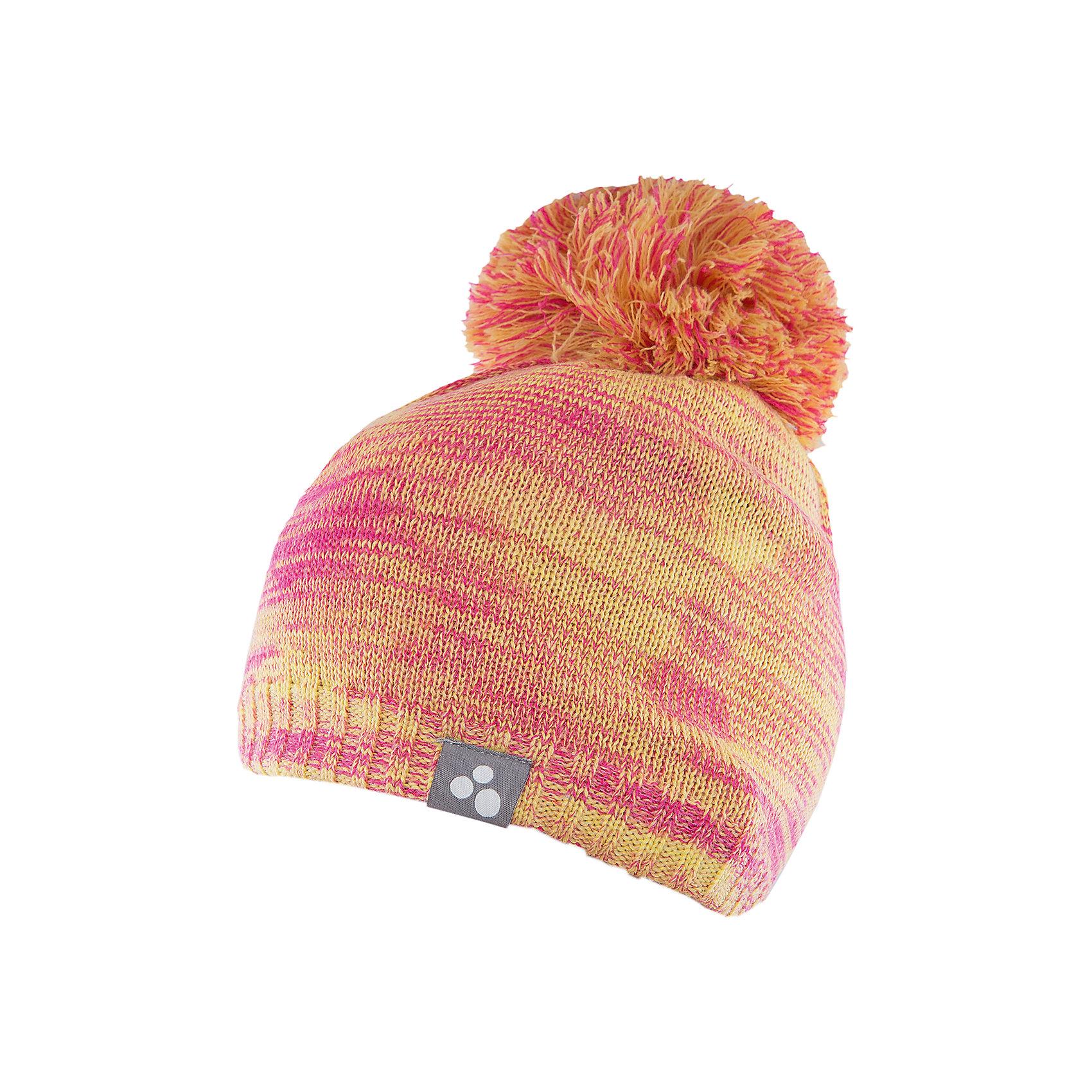 Шапка  HuppaЗимние<br>Шапка Huppa Daimar изготовлена из шерсти мериноса и акрила. Имеет крупный помпон и светоотражательный элемент. Эта шапка согреет ребенка в холодную погоду, а идеальное сочетание цветов непременно порадуют юного модника!<br><br>Дополнительная информация:<br>Цвет: желтый/розовый<br>Состав: 50% шерсть мериноса, 50% акрил<br><br>Шапку Huppa Daimar можно приобрести в нашем интернет-магазине.<br><br>Ширина мм: 89<br>Глубина мм: 117<br>Высота мм: 44<br>Вес г: 155<br>Цвет: зеленый<br>Возраст от месяцев: 132<br>Возраст до месяцев: 144<br>Пол: Женский<br>Возраст: Детский<br>Размер: 57,55-57,51-53<br>SKU: 4923521