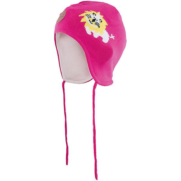 Шапка  HuppaГоловные уборы<br>Эта шапка Lion от Huppa(хуппа) надежно закрывает голову, уши и защищает от морозов. Она изготовлена из акрила, отлично сохраняющего тепло. Подкладка из хлопка приятна тела и не вызывает раздражения на чувствительной коже ребенка. Рисунок с милым львенком добавит веселые нотки к образу ребенка.<br><br>Дополнительная информация:<br>Цвет: фуксия<br>Материал: 100% акрил<br>Подкладка: 100% хлопок<br><br>Шапку Huppa(хуппа) вы можете приобрести в нашем интернет-магазине.<br><br>Ширина мм: 89<br>Глубина мм: 117<br>Высота мм: 44<br>Вес г: 155<br>Цвет: розовый<br>Возраст от месяцев: 36<br>Возраст до месяцев: 72<br>Пол: Женский<br>Возраст: Детский<br>Размер: 51-53,43-45,47-49<br>SKU: 4923537