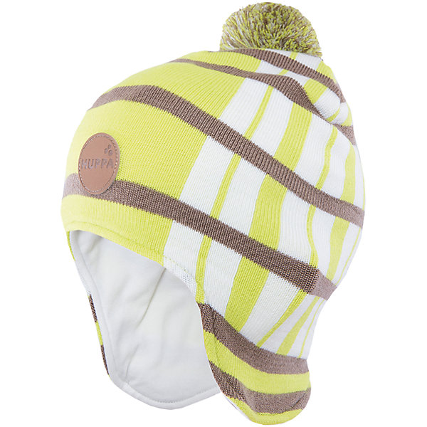 Шапка Windy HuppaДемисезонные<br>Удлиненная вязаная шапка Windy от Huppa(Хуппа) изготовлена из шерсти мериноса и акрила. Она отлично сохраняет тепло, надежно закрывает уши и не вызывает раздражения на коже, благодаря подкладке из хлопка. Шапка имеет рисунок с полосками, помпон и эмблему фирмы спереди. В этой шапочке ребенку несомненно будет очень тепло и комфортно!<br><br>Дополнительная информация:<br>Цвет: салатовый<br>Материал:  100% полиэстер<br>Подкладка: трикотаж - 100% хлопок<br><br>Шапку Huppa(Хуппа) вы можете приобрести в нашем интернет-магазине.<br><br>Ширина мм: 89<br>Глубина мм: 117<br>Высота мм: 44<br>Вес г: 155<br>Цвет: зеленый<br>Возраст от месяцев: 12<br>Возраст до месяцев: 24<br>Пол: Мужской<br>Возраст: Детский<br>Размер: 47-49,55-57,51-53<br>SKU: 4923545