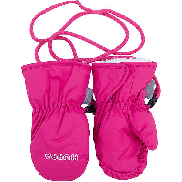 Варежки Huppa GayaВерхняя одежда<br>Характеристики товара:<br><br>• модель: Gaya;<br>• цвет: розовый;<br>• состав: 100% полиэстер; <br>• подкладка: 100% полиэстер, флис;<br>• утеплитель: 90 г/м2;<br>• сезон: зима;<br>• температурный режим: от 0°С до -20°С;<br>• водонепроницаемость: 5000 мм;<br>• воздухопроницаемость: 5000 мм;<br>• водо- и ветронепроницаемый, дышащий материал;<br>• боковая застежка-липучка;<br>• скреплены между собой веревочкой;<br>• светоотражающая нашивка;<br>• страна бренда: Финляндия;<br>• страна изготовитель: Эстония.<br><br>Теплые зимние варежки на флисовой подкладке. Материал водонепроницаем, что позволит сохранить ручки сухими. Варежки застегиваются на липучку сбоку, скреплены между собой веревкой, варежки никогда не потеряются.<br><br>Варежки Huppa Gaya (Хуппа) можно купить в нашем интернет-магазине.<br><br>Ширина мм: 162<br>Глубина мм: 171<br>Высота мм: 55<br>Вес г: 119<br>Цвет: розовый<br>Возраст от месяцев: 3<br>Возраст до месяцев: 12<br>Пол: Женский<br>Возраст: Детский<br>Размер: 1,2<br>SKU: 4923652