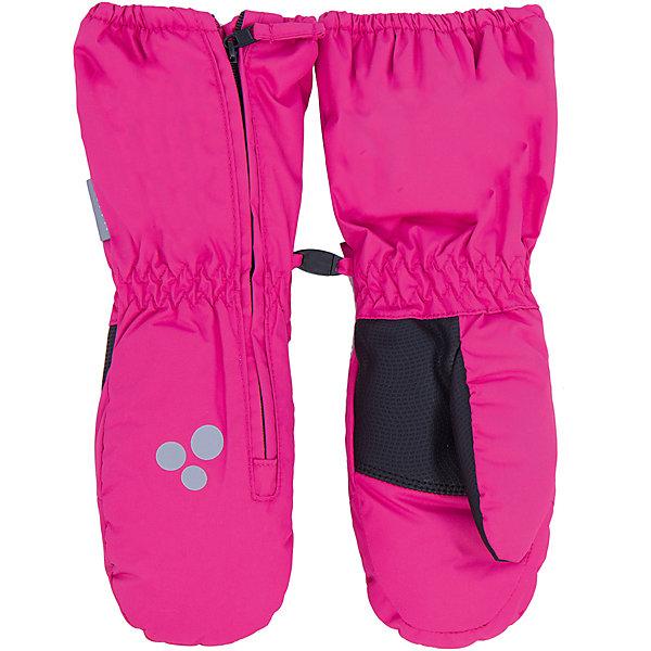 Варежки Huppa JanusПерчатки, варежки<br>Характеристики товара:<br><br>• модель: Janus;<br>• цвет: розовый;<br>• состав: 100% полиэстер; <br>• подкладка: 100% полиэстер, флис;<br>• утеплитель: 150 г/м2;<br>• сезон: зима;<br>• температурный режим: от 0°С до -20°С;<br>• водонепроницаемость: 5000 мм;<br>• воздухопроницаемость: 5000 мм;<br>• водо- и ветронепроницаемый, дышащий материал;<br>• застежка-молния сбоку;<br>• усиленные вставки на ладонях и больших пальцах;<br>• светоотражающая нашивка;<br>• страна бренда: Финляндия;<br>• страна изготовитель: Эстония.<br><br>Теплые зимние варежки на флисовой подкладке. Материал водонепроницаем, что позволит сохранить ручки сухими. Варежки на молнии, с усиленными вставками на ладонях и больших пальцах, предотвратят истирание.<br><br>Варежки Huppa Janus (Хуппа) можно купить в нашем интернет-магазине.<br>Ширина мм: 162; Глубина мм: 171; Высота мм: 55; Вес г: 119; Цвет: розовый; Возраст от месяцев: 48; Возраст до месяцев: 60; Пол: Женский; Возраст: Детский; Размер: 5,1,2,3,4; SKU: 4923704;
