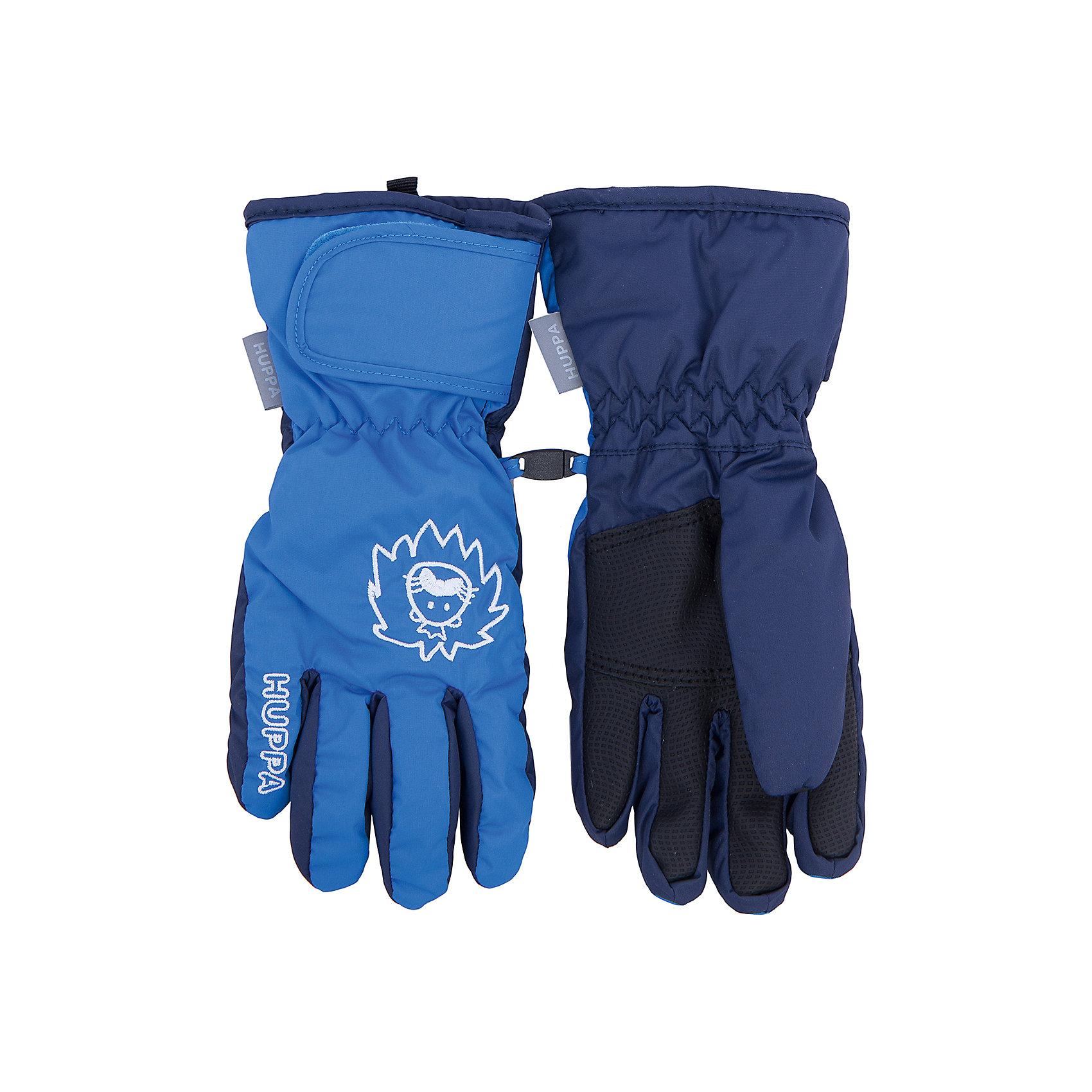 Перчатки    HuppaПерчатки, варежки<br>Яркие перчатки RIXTON Huppa(Хуппа).<br><br>Утеплитель: 100% полиэстер, 90 гр.<br><br>Температурный режим: до -20 градусов. Степень утепления – средняя. <br><br>* Температурный режим указан приблизительно — необходимо, прежде всего, ориентироваться на ощущения ребенка. Температурный режим работает в случае соблюдения правила многослойности – использования флисовой поддевы и термобелья.<br><br>Имеют водоотталкивающую дышащую поверхность и сохранят руки ребенка в тепле. Перчатки имеют резинку на запястье и застежку-липучку для надежной фиксации. Яркий дизайн и вышивка непременно понравятся ребенку!<br><br>Дополнительная информация:<br>Материал: 100% полиэстер<br>Подкладка: pritex, 100% полиэстер<br>Цвет: синий<br><br>Вы можете приобрести перчатки RIXTON Huppa(Хуппа) в нашем интернет-магазине.<br><br>Ширина мм: 162<br>Глубина мм: 171<br>Высота мм: 55<br>Вес г: 119<br>Цвет: синий<br>Возраст от месяцев: 108<br>Возраст до месяцев: 156<br>Пол: Унисекс<br>Возраст: Детский<br>Размер: 8,3,4,5,6,7<br>SKU: 4923788