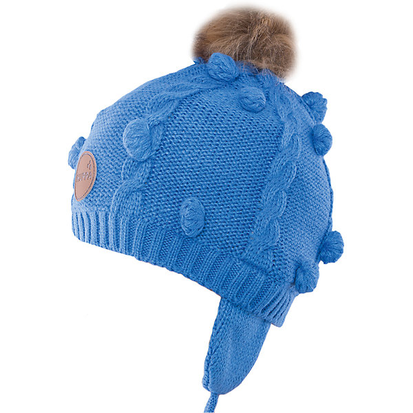 Шапка Huppa MacyГоловные уборы<br>Характеристики товара:<br><br>• модель: Macy;<br>• цвет: голубой;<br>• состав: шапка: 100% акрил; <br>• подкладка: 100% хлопок:<br>• температурный режим: от 0°С до -20°С;<br>• шапка на завязках;<br>• помпон из искусственного меха на макушке;<br>• особенности: вязаная, с помпоном;<br>• страна бренда: Финляндия;<br>• страна изготовитель: Эстония.<br><br>Вязаная детская шапка Macy. Теплая вязанная шапочка, прекрасно подойдет для повседневных прогулок в холодную погоду. Шапка изготовлена из 100% акрила, с хлопковой подкладкой. <br><br>Шапку Huppa Macy (Хуппа) можно купить в нашем интернет-магазине.<br>Ширина мм: 89; Глубина мм: 117; Высота мм: 44; Вес г: 155; Цвет: синий; Возраст от месяцев: 3; Возраст до месяцев: 12; Пол: Мужской; Возраст: Детский; Размер: 43-45,55-57,51-53,47-49; SKU: 4923826;