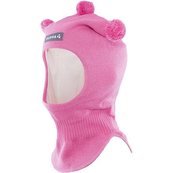 Шапка-шлем   HuppaШапочки<br>Шапка-шлем COCO Huppa(Хуппа) отлично подойдет для холодной зимы. Она идеально защитит голову, шею и уши ребенка от холода и ветра. В области шеи есть удобная широкая резинка для максимальной защиты от мороза. Шапка украшена тремя помпонами. Прекрасный вариант для долгих прогулок.<br><br>Дополнительная информация:<br>Материал: 50% шерсть мериноса, 50% акрил<br>Подкладка: хлопок<br>Цвет: розовый<br><br>Шапку-шлем  Huppa(Хуппа) можно приобрести в нашем интернет-магазине.<br><br>Ширина мм: 89<br>Глубина мм: 117<br>Высота мм: 44<br>Вес г: 155<br>Цвет: розовый<br>Возраст от месяцев: 9<br>Возраст до месяцев: 12<br>Пол: Женский<br>Возраст: Детский<br>Размер: 43-45,51-53,47-49<br>SKU: 4923858