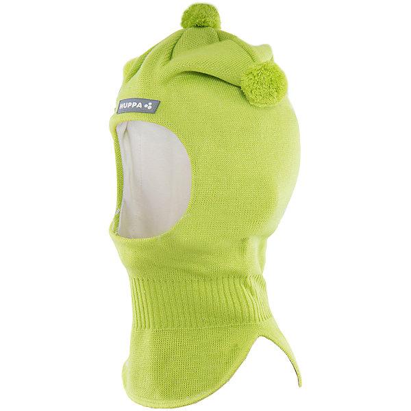 Шапка-шлем   HuppaЗимние<br>Шапка-шлем COCO Huppa(Хуппа) отлично подойдет для холодной зимы. Она идеально защитит голову, шею и уши ребенка от холода и ветра. В области шеи есть удобная широкая резинка для максимальной защиты от мороза. Шапка украшена тремя помпонами. Прекрасный вариант для долгих прогулок.<br><br>Дополнительная информация:<br>Материал: 50% шерсть мериноса, 50% акрил<br>Подкладка: хлопок<br>Цвет: салатовый<br><br>Шапку-шлем  Huppa(Хуппа) можно приобрести в нашем интернет-магазине.<br><br>Ширина мм: 89<br>Глубина мм: 117<br>Высота мм: 44<br>Вес г: 155<br>Цвет: зеленый<br>Возраст от месяцев: 9<br>Возраст до месяцев: 12<br>Пол: Мужской<br>Возраст: Детский<br>Размер: 43-45,51-53,47-49<br>SKU: 4923866