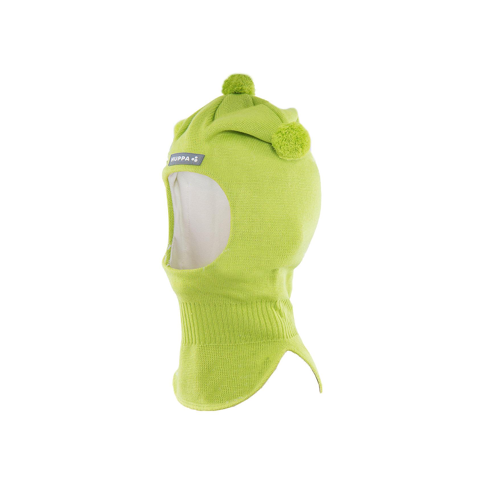 Шапка-шлем   HuppaШапка-шлем COCO Huppa(Хуппа) отлично подойдет для холодной зимы. Она идеально защитит голову, шею и уши ребенка от холода и ветра. В области шеи есть удобная широкая резинка для максимальной защиты от мороза. Шапка украшена тремя помпонами. Прекрасный вариант для долгих прогулок.<br><br>Дополнительная информация:<br>Материал: 50% шерсть мериноса, 50% акрил<br>Подкладка: хлопок<br>Цвет: салатовый<br><br>Шапку-шлем  Huppa(Хуппа) можно приобрести в нашем интернет-магазине.<br><br>Ширина мм: 89<br>Глубина мм: 117<br>Высота мм: 44<br>Вес г: 155<br>Цвет: зеленый<br>Возраст от месяцев: 9<br>Возраст до месяцев: 12<br>Пол: Мужской<br>Возраст: Детский<br>Размер: 43-45,51-53,47-49<br>SKU: 4923866
