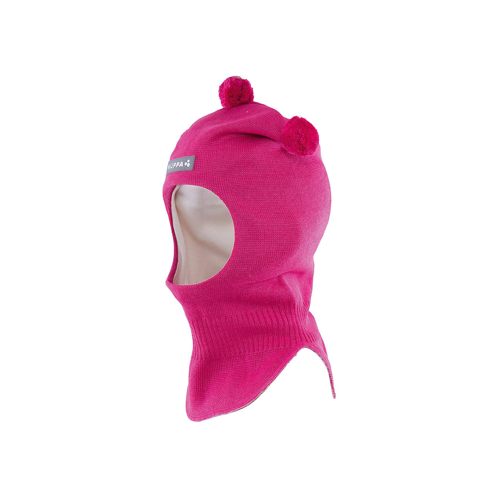 Шапка-шлем   HuppaШапочки<br>Шапка-шлем COCO Huppa(Хуппа) отлично подойдет для холодной зимы. Она идеально защитит голову, шею и уши ребенка от холода и ветра. В области шеи есть удобная широкая резинка для максимальной защиты от мороза. Шапка украшена тремя помпонами. Прекрасный вариант для долгих прогулок.<br><br>Дополнительная информация:<br>Материал: 50% шерсть мериноса, 50% акрил<br>Подкладка: хлопок<br>Цвет: фуксия<br><br>Шапку-шлем  Huppa(Хуппа) можно приобрести в нашем интернет-магазине.<br><br>Ширина мм: 89<br>Глубина мм: 117<br>Высота мм: 44<br>Вес г: 155<br>Цвет: розовый<br>Возраст от месяцев: 9<br>Возраст до месяцев: 12<br>Пол: Женский<br>Возраст: Детский<br>Размер: 43-45,51-53,47-49<br>SKU: 4923870