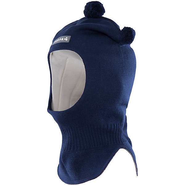 Шапка-шлем   HuppaЗимние<br>Шапка-шлем COCO Huppa(Хуппа) отлично подойдет для холодной зимы. Она идеально защитит голову, шею и уши ребенка от холода и ветра. В области шеи есть удобная широкая резинка для максимальной защиты от мороза. Шапка украшена тремя помпонами. Прекрасный вариант для долгих прогулок.<br><br>Дополнительная информация:<br>Материал: 50% шерсть мериноса, 50% акрил<br>Подкладка: хлопок<br>Цвет: темно-синий<br><br>Шапку-шлем  Huppa(Хуппа) можно приобрести в нашем интернет-магазине.<br><br>Ширина мм: 89<br>Глубина мм: 117<br>Высота мм: 44<br>Вес г: 155<br>Цвет: синий<br>Возраст от месяцев: 9<br>Возраст до месяцев: 12<br>Пол: Мужской<br>Возраст: Детский<br>Размер: 43-45,51-53,47-49<br>SKU: 4923878