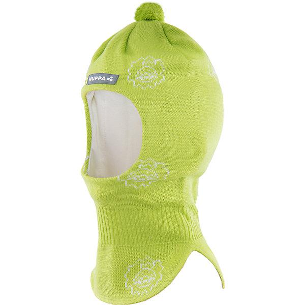 Шапка-шлем   HuppaГоловные уборы<br>Шапка-шлем KELDA Huppa(Хуппа) изготовлена из шерсти мериноса и акрила и отлично подойдет для холодной зимы. Она защитит голову, шею и уши ребенка от холода и ветра. В области шеи есть удобная широкая резинка для максимальной защиты от мороза. Шапка украшена помпоном и рисунком. Прекрасный вариант для долгих прогулок.<br><br>Дополнительная информация:<br>Материал: 50% шерсть мериноса, 50% акрил<br>Подкладка: хлопок<br>Цвет: салатовый<br><br>Шапку-шлем KELDA  Huppa(Хуппа) можно приобрести в нашем интернет-магазине.<br><br>Ширина мм: 89<br>Глубина мм: 117<br>Высота мм: 44<br>Вес г: 155<br>Цвет: зеленый<br>Возраст от месяцев: 9<br>Возраст до месяцев: 12<br>Пол: Унисекс<br>Возраст: Детский<br>Размер: 43-45,47-49,51-53<br>SKU: 4923886