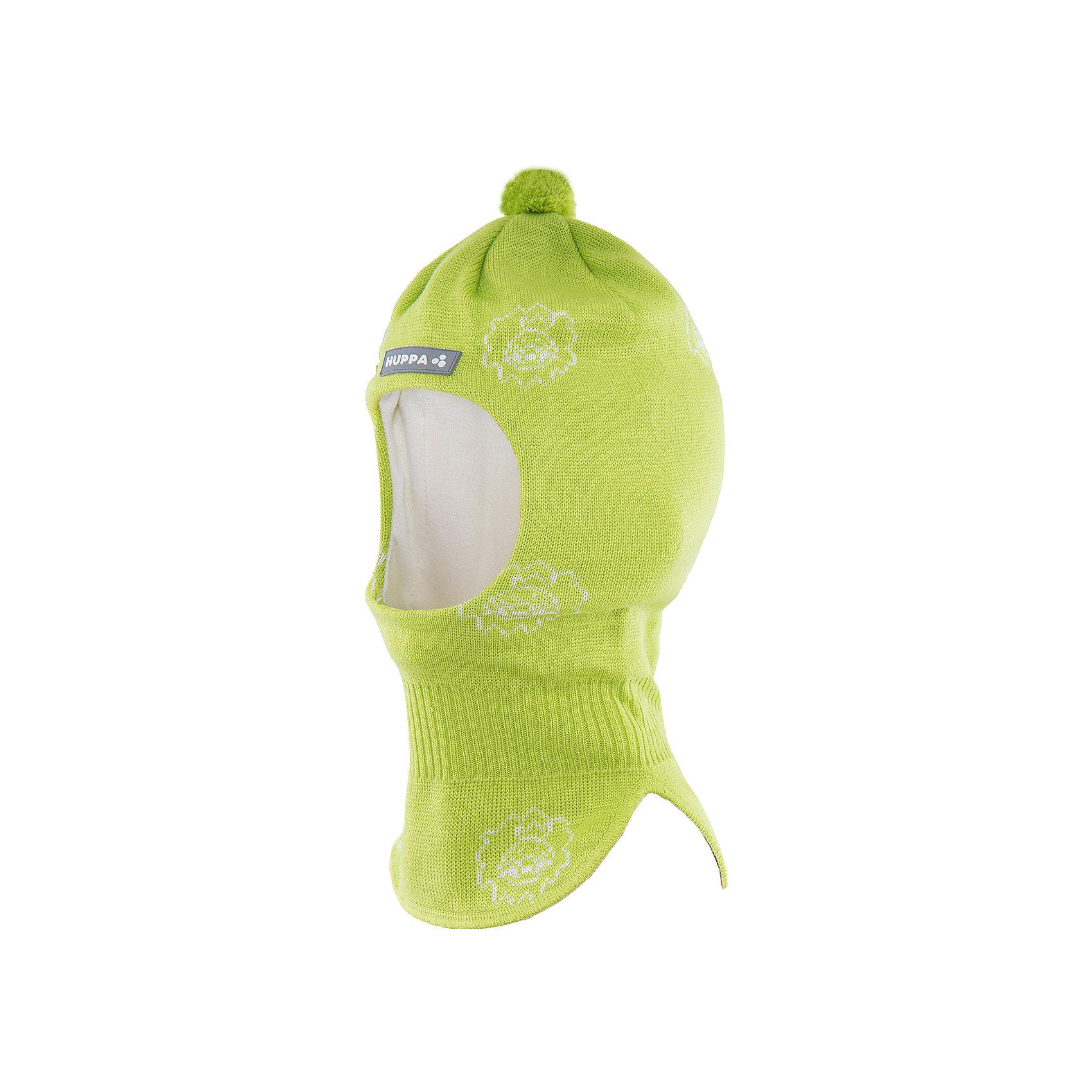 Шапка-шлем   HuppaЗимние<br>Шапка-шлем KELDA Huppa(Хуппа) изготовлена из шерсти мериноса и акрила и отлично подойдет для холодной зимы. Она защитит голову, шею и уши ребенка от холода и ветра. В области шеи есть удобная широкая резинка для максимальной защиты от мороза. Шапка украшена помпоном и рисунком. Прекрасный вариант для долгих прогулок.<br><br>Дополнительная информация:<br>Материал: 50% шерсть мериноса, 50% акрил<br>Подкладка: хлопок<br>Цвет: салатовый<br><br>Шапку-шлем KELDA  Huppa(Хуппа) можно приобрести в нашем интернет-магазине.<br><br>Ширина мм: 89<br>Глубина мм: 117<br>Высота мм: 44<br>Вес г: 155<br>Цвет: зеленый<br>Возраст от месяцев: 9<br>Возраст до месяцев: 12<br>Пол: Унисекс<br>Возраст: Детский<br>Размер: 43-45,47-49,51-53<br>SKU: 4923886