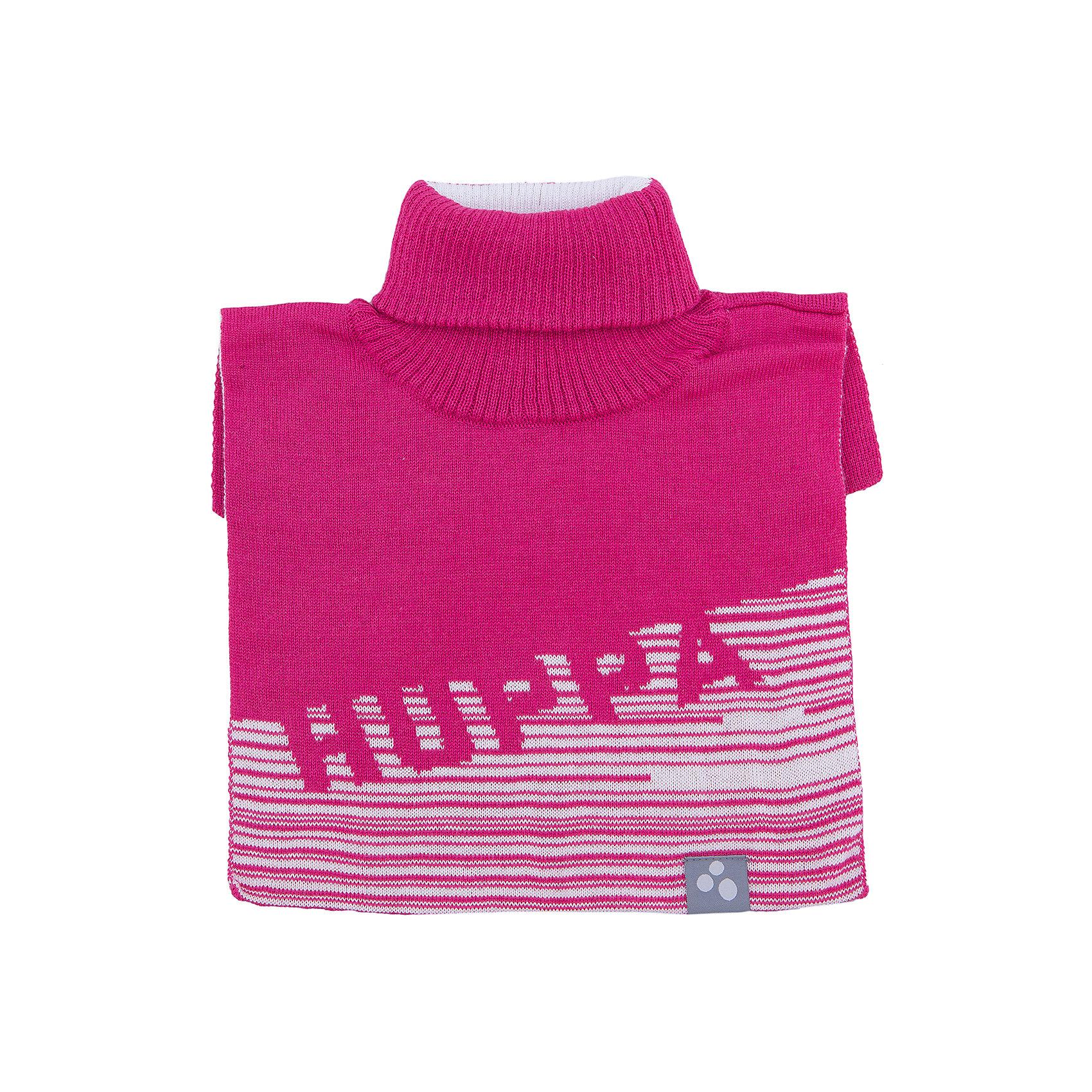 Манишка HuppaШарфы, платки<br>Манишка GINA Huppa(Хуппа) изготовлена из шерсти мериноса и акрила, обеспечивающего тепло. Этот шарф прекрасно защитит шею ребенка от ветра и мороза. Украшен рисунком HUPPA и отлично подойдет к гардеробу ребенка.<br><br>Дополнительная информация:<br>Материал: 50% шерсть мериноса, 50% акрил<br>Подкладка: хлопок<br>Цвет: фуксия/белый<br>Вы можете приобрести шарф-воротник GINA Huppa(Хуппа) в нашем интернет-магазине.<br><br>Ширина мм: 88<br>Глубина мм: 155<br>Высота мм: 26<br>Вес г: 106<br>Цвет: розовый<br>Возраст от месяцев: 12<br>Возраст до месяцев: 24<br>Пол: Женский<br>Возраст: Детский<br>Размер: 47-49,55-57<br>SKU: 4923937