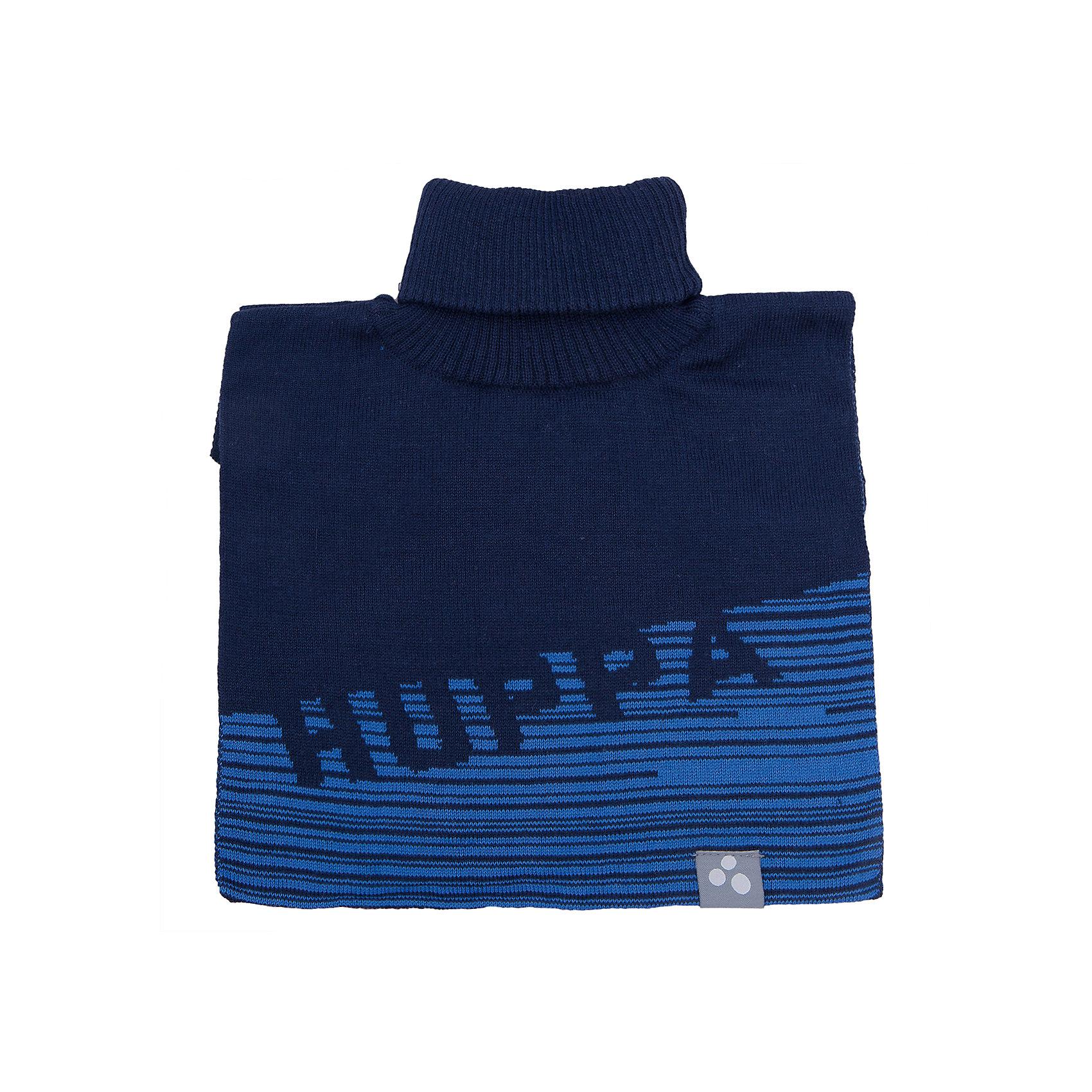 Манишка HuppaШарфы, платки<br>Манишка  GINA Huppa(Хуппа) изготовлена из шерсти мериноса и акрила, обеспечивающего тепло. Этот шарф прекрасно защитит шею ребенка от ветра и мороза. Украшен рисунком HUPPA и отлично подойдет к гардеробу ребенка.<br><br>Дополнительная информация:<br>Материал: 50% шерсть мериноса, 50% акрил<br>Подкладка: хлопок<br>Цвет: синий/темно-синий<br><br>Вы можете приобрести шарф-воротник GINA Huppa(Хуппа) в нашем интернет-магазине.<br><br>Ширина мм: 88<br>Глубина мм: 155<br>Высота мм: 26<br>Вес г: 106<br>Цвет: синий<br>Возраст от месяцев: 12<br>Возраст до месяцев: 24<br>Пол: Унисекс<br>Возраст: Детский<br>Размер: 47-49,55-57<br>SKU: 4923940