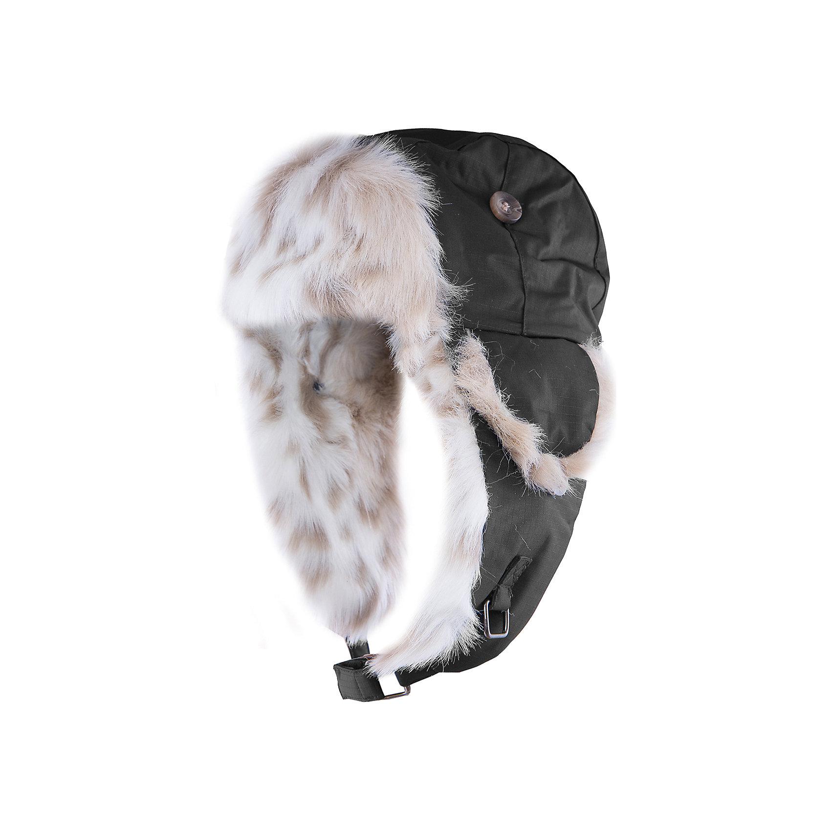 Шапка  HuppaЗимние<br>Стильная зимняя шапка KASPAR Huppa(Хуппа).<br><br>Утеплитель: 100% полиэстер, 150 гр.<br><br>Температурный режим: до -25 градусов. Степень утепления – средняя. <br><br>* Температурный режим указан приблизительно — необходимо, прежде всего, ориентироваться на ощущения ребенка. Температурный режим работает в случае соблюдения правила многослойности – использования флисовой поддевы и термобелья.<br><br>С подкладкой из искусственного меха изготовлена с использованием дышащих водоотталкивающих материалов. Эта шапка отлично защитит голову и уши ребенка от холода и ветра. Кроме того, ее можно надеть в разных исполнениях: большие клапаны застегиваются на подбородке, маленькие и большие - на макушке. Замечательный вариант для тех, кто ценит качество и стиль.<br><br>Дополнительная информация:<br>Материал: 100% полиэстер<br>Подкладка: искуственый мех - 80% акрил, 20% полиэстер<br><br>Цвет: черный<br><br>Шапку KASPAR Huppa(Хуппа) можно приобрести в нашем интернет-магазине.<br><br>Ширина мм: 89<br>Глубина мм: 117<br>Высота мм: 44<br>Вес г: 155<br>Цвет: серый<br>Возраст от месяцев: 84<br>Возраст до месяцев: 120<br>Пол: Мужской<br>Возраст: Детский<br>Размер: 55-57,47-49,51-53<br>SKU: 4923957