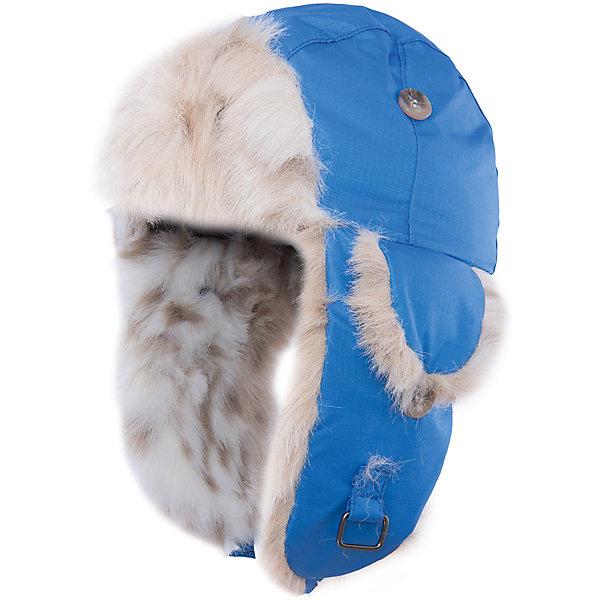 Шапка Kaspar HuppaГоловные уборы<br>Стильная зимняя шапка KASPAR Huppa(Хуппа).<br><br>Утеплитель: 100% полиэстер, 150 гр.<br><br>Температурный режим: до -25 градусов. Степень утепления – средняя. <br><br>* Температурный режим указан приблизительно — необходимо, прежде всего, ориентироваться на ощущения ребенка. Температурный режим работает в случае соблюдения правила многослойности – использования флисовой поддевы и термобелья.<br><br>С подкладкой из искусственного меха изготовлена с использованием дышащих водоотталкивающих материалов. Эта шапка отлично защитит голову и уши ребенка от холода и ветра. Кроме того, ее можно надеть в разных исполнениях: большие клапаны застегиваются на подбородке, маленькие и большие - на макушке. Замечательный вариант для тех, кто ценит качество и стиль.<br><br>Дополнительная информация:<br>Материал: 100% полиэстер<br>Подкладка: искуственный мех - 80% акрил, 20% полиэстер<br>Цвет: синий<br><br>Шапку KASPAR Huppa(Хуппа) можно приобрести в нашем интернет-магазине.<br><br>Ширина мм: 89<br>Глубина мм: 117<br>Высота мм: 44<br>Вес г: 155<br>Цвет: синий<br>Возраст от месяцев: 12<br>Возраст до месяцев: 24<br>Пол: Мужской<br>Возраст: Детский<br>Размер: 47-49,55-57,51-53<br>SKU: 4923961