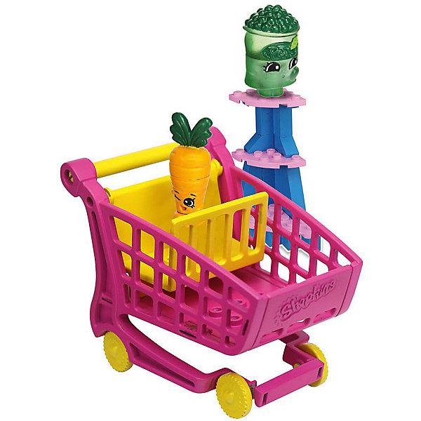 Конструктор «Магазин» Freezy Peazy и Дикая Морковь, ShopkinsПластмассовые конструкторы<br>Маленьких любителей конструкторов и мультфильма Shopkins приведет в восторг этот набор - с помощью него можно придумывать множество сюжетов игр с обожаемыми героями. Набор состоит из 37 деталей, из них можно сконструировать тележку для покупок. Также в нем есть <br>2 мини-фигурки, они разбираются и состоят из трех частей. Этот комплект ребенок может использовать в наборе с другими конструкторами от Shopkins Kinstructions от The Bridge Direct и Lego. Конструктор дополнен специальными наклейками, с помощью которых постройки можно украшать! Набор сделан из высококачественных материалов в соответствии со стандартами безопасности.<br><br>Дополнительная информация:<br><br>цвет: разноцветный;<br>материал: пластик;<br>деталей: 37 шт;<br>фигурок: 2 шт.<br><br>Конструктор «Магазин» Freezy Peazy и Дикая Морковь, Shopkins можно купить в нашем магазине.<br>Ширина мм: 38; Глубина мм: 127; Высота мм: 178; Вес г: 180; Возраст от месяцев: 72; Возраст до месяцев: 120; Пол: Женский; Возраст: Детский; SKU: 4924449;