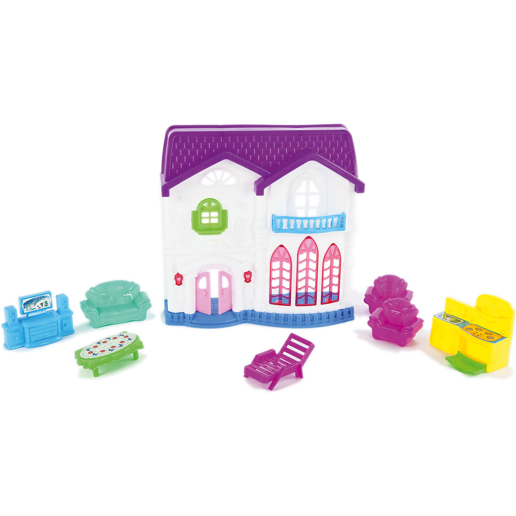Shantou Gepai Дом для куклы складной, Shantou Gepai shantou gepai игрушка пластм дом для куклы shantou gepai 6927713727717