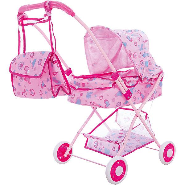 Коляска люлька с корзиной и сумкой, 36*56*58 см, Shantou GepaiТранспорт и коляски для кукол<br>Коляска люлька с корзиной и сумкой, 36*56*58 см, Shantou Gepai. Интересная 4-х колесная коляска со складным козырьком придет по вкусу куклам и их владелице. При желании коляска складывается для функционального  хранения. В составе каркаса коляски использован алюминий, что позволяет ребенку легко ее передвигать. Обширный козырек убережет пупсов от солнышка и небольшого дождика и, в дополнение, добавляет коляске реалистичности. Яркие цвета рисунков на розовом фоне понравятся ребенку, а при необходимости обивка коляски снимается. У этой модели имеется удобная корзина для мелочей и сумочка, которая вешается на ручку коляски. Теперь прогулки и игры с любимыми куклами будут еще увлекательнее. Каждая девочка хочет иметь коляску для своих дочек и катать их, эта коляска будет отличным подарком.<br> <br>Дополнительная информация:<br><br>- Материал: пластик, текстиль, металл<br>- Размер коляски: 36 * 56 * 58 см.<br>- Высота ручки 58 см.<br>Коляску люльку с корзиной и сумкой, 36*56*58 см, Shantou Gepai можно купить в нашем интернет-магазине.<br><br>Подробнее:<br>• Для детей в возрасте: от 3 до 6 лет<br>• Номер товара: 4925527<br>Страна производитель: Китай<br>Ширина мм: 350; Глубина мм: 100; Высота мм: 730; Вес г: 2083; Возраст от месяцев: 36; Возраст до месяцев: 120; Пол: Женский; Возраст: Детский; SKU: 4925527;