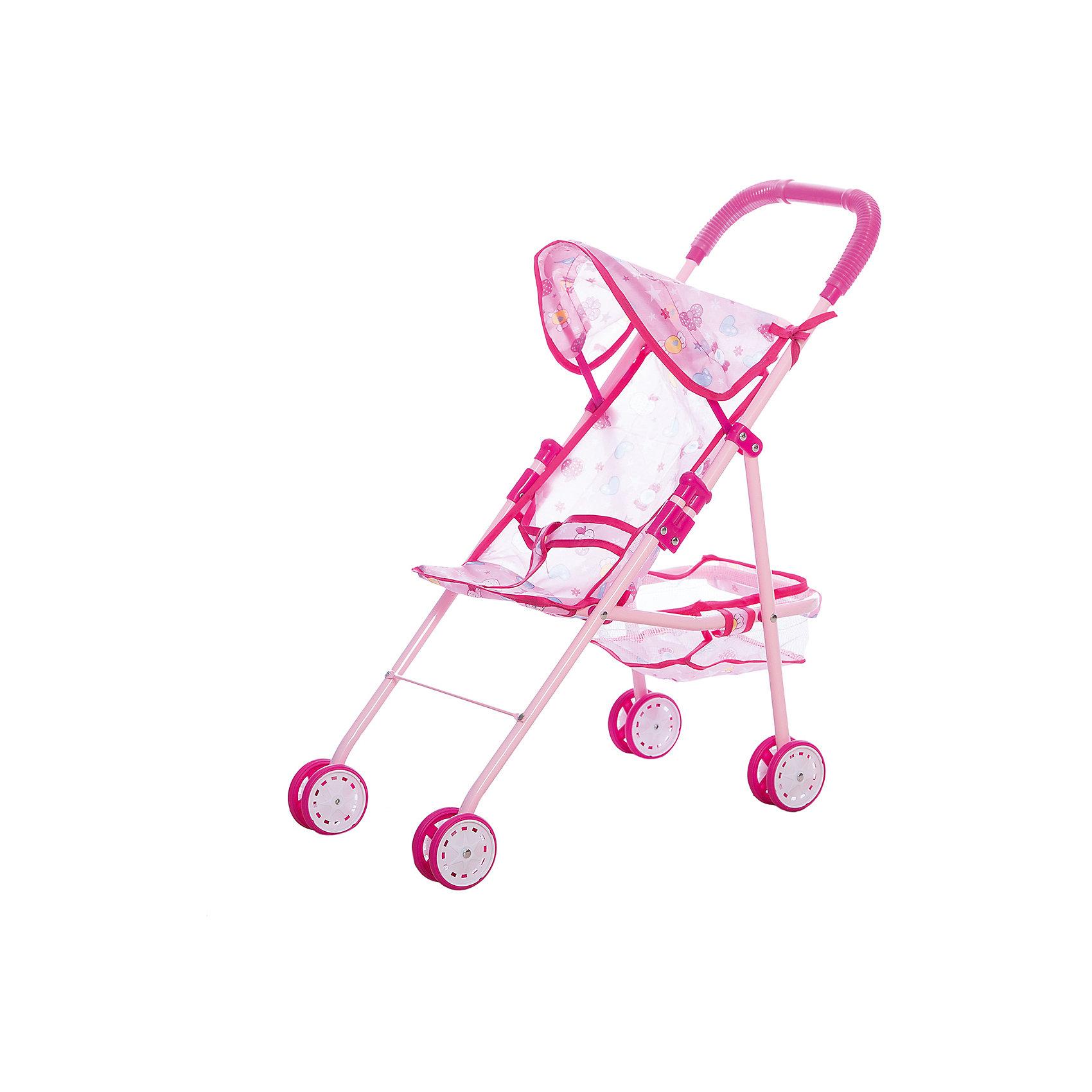 Коляска прогулочная с корзиной , 24,5*52*53 см, Shantou GepaiКоляски и транспорт для кукол<br>Коляска прогулочная с корзиной , 24,5*52*53 см, Shantou Gepai. Интересная прогулочная коляска со складным козырьком придет по вкусу куклам и их владелице. При желании коляска складывается для более удобного хранения. В составе каркаса коляски использован алюминий, что позволяет ребенку легко ее передвигать. Небольшой козырек убережет пупсов от солнышка и небольшого дождика и, в дополнение, добавляет коляске реалистичности. Яркие цвета рисунков на розовом фоне понравятся ребенку, а при необходимости обивка коляски снимается. У этой модели имеется небольшая корзина для мелочей. Теперь прогулки и игры с любимыми куклами будут еще увлекательнее. Каждая девочка хочет иметь коляску для своих дочек и катать их, эта коляска будет отличным подарком.<br> <br>Дополнительная информация:<br><br>- Материал: пластик, текстиль, металл<br>- Размер коляски: 24,5 * 52 * 53 см.<br>- Высота ручки 53 см.<br>Коляску прогулочную с корзиной , 24,5*52*53 см, Shantou Gepai можно купить в нашем интернет-магазине.<br><br>Подробнее:<br>• Для детей в возрасте: от 3 до 6 лет<br>• Номер товара: 4925529<br>Страна производитель: Китай<br><br>Ширина мм: 300<br>Глубина мм: 80<br>Высота мм: 450<br>Вес г: 2083<br>Возраст от месяцев: 36<br>Возраст до месяцев: 120<br>Пол: Женский<br>Возраст: Детский<br>SKU: 4925529